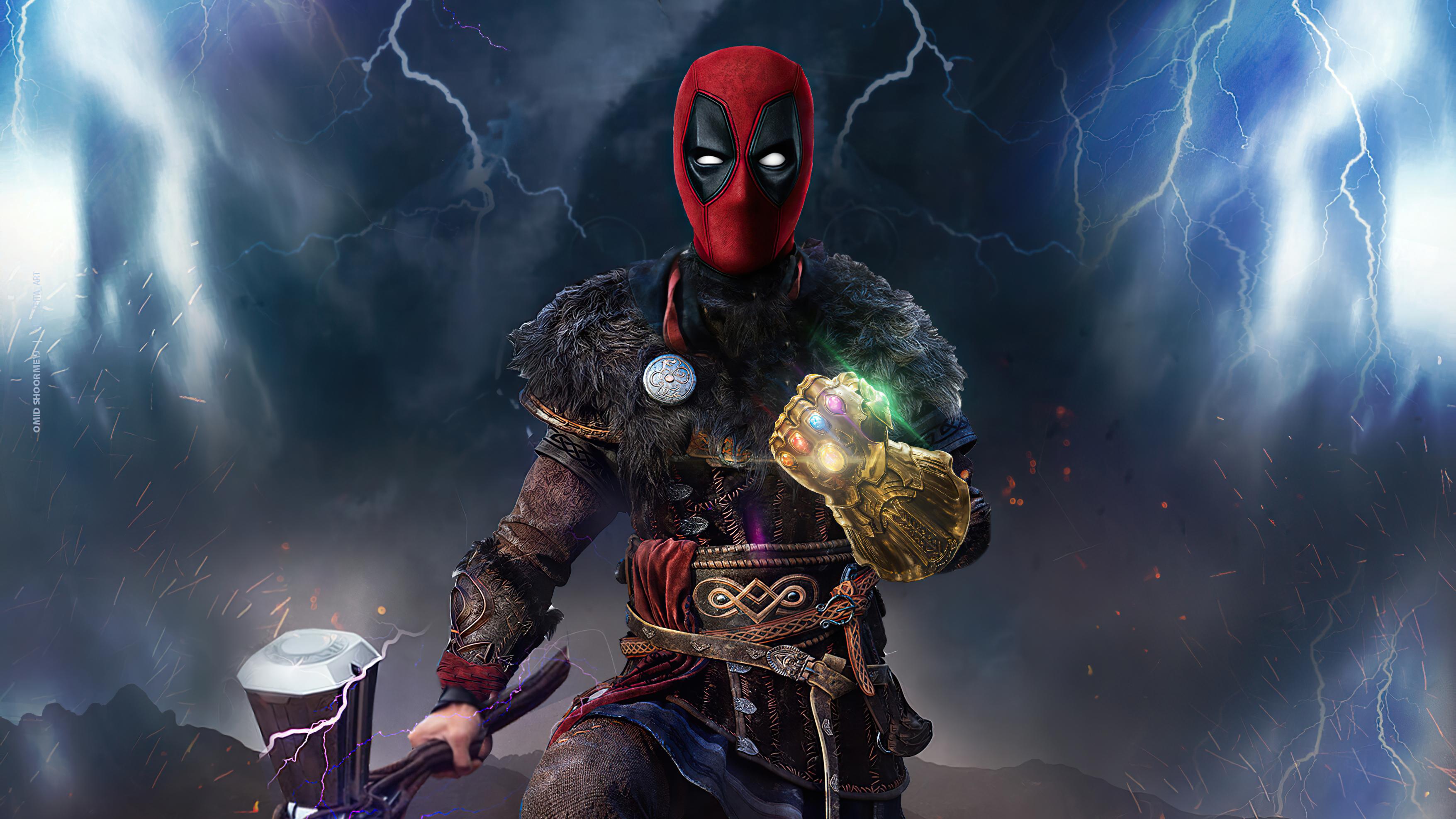 Deadpool Artwork 4k 2020, HD Superheroes, 4k Wallpapers ...