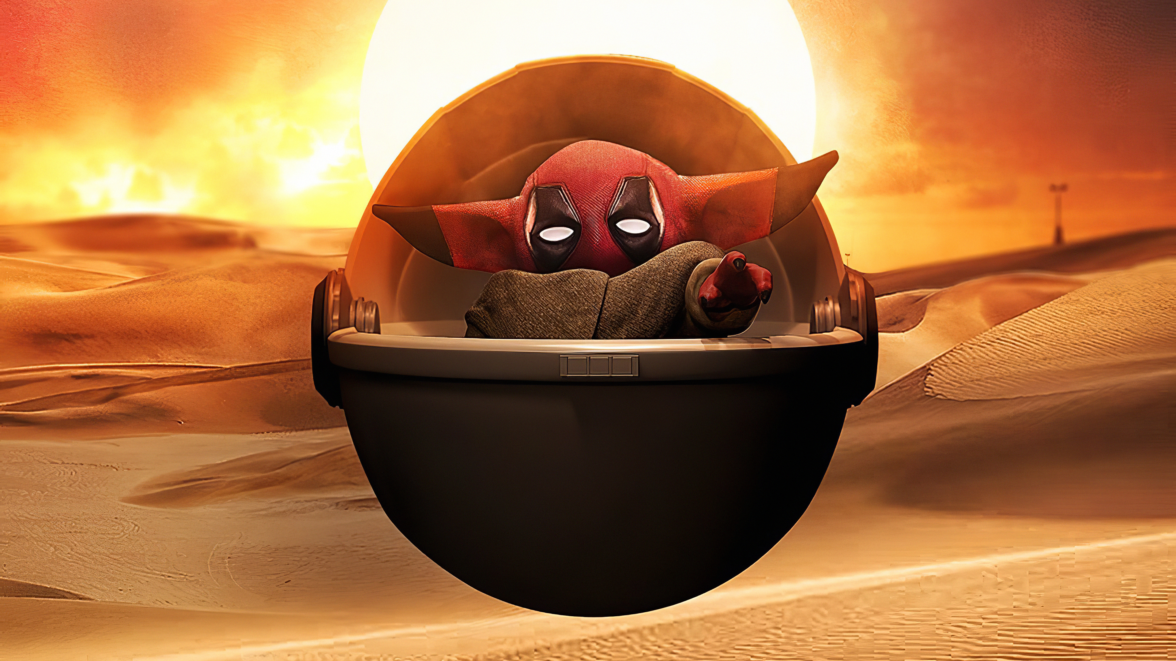 Deadpool Baby Yoda Hd Tv Shows 4k Wallpapers Images Backgrounds Photos And Pictures