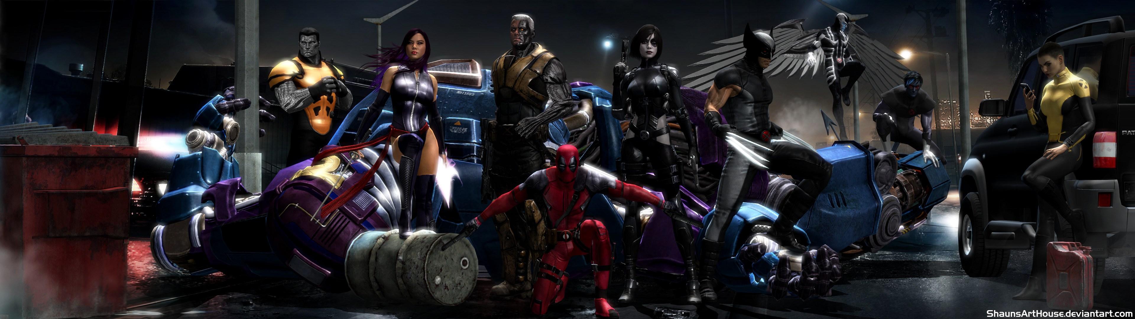 Deadpool X Force Hd Superheroes 4k Wallpapers Images