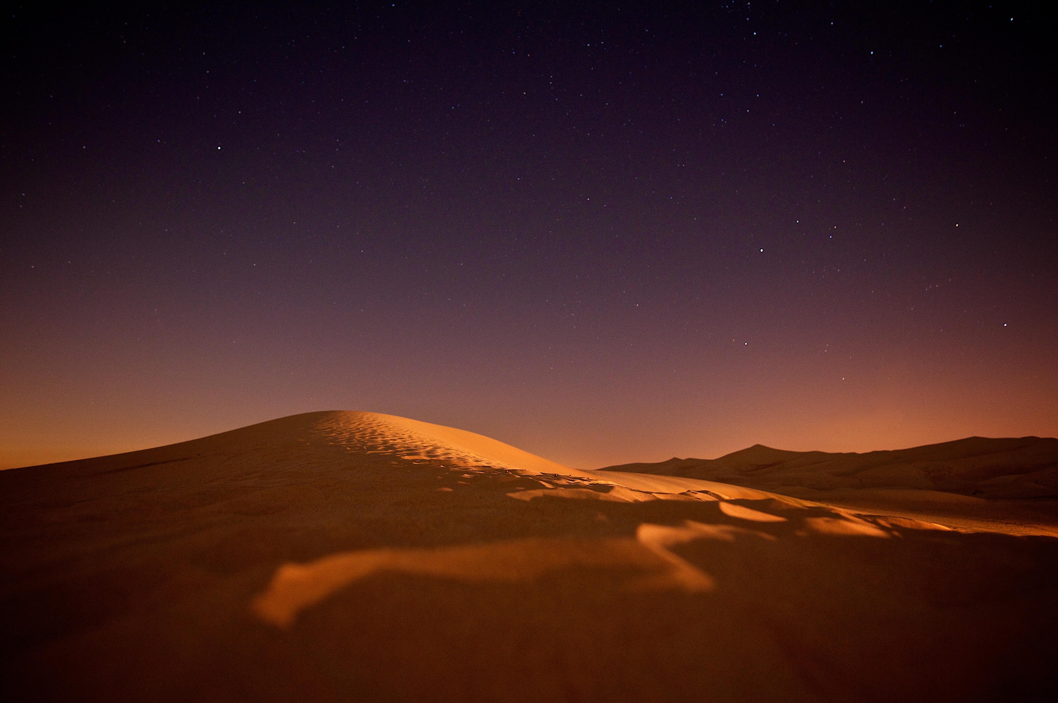 Desert Twilight 4k, HD Nature, 4k Wallpapers, Images ...