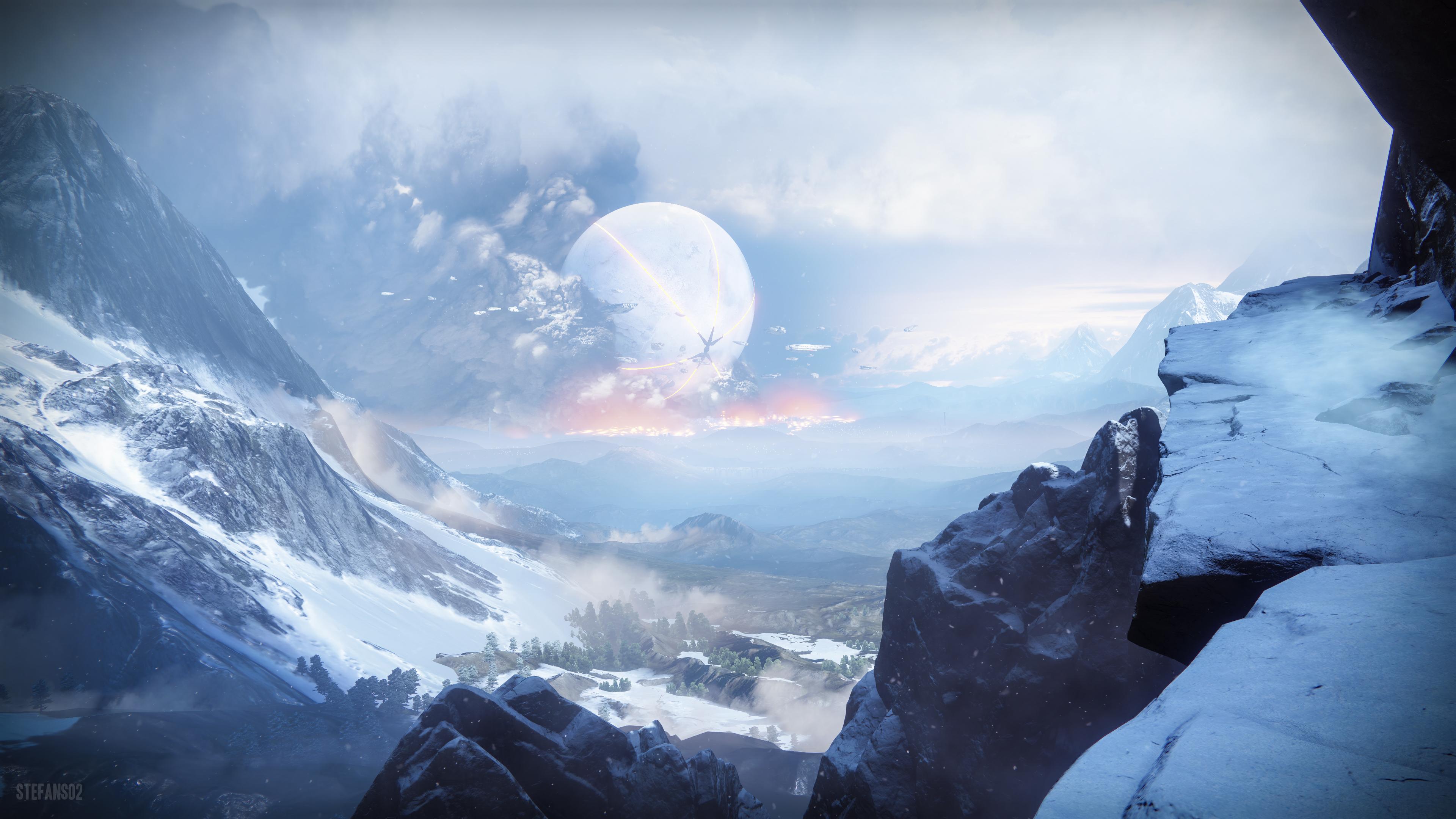 Destiny 2 Off The Cliff 4k, HD Games