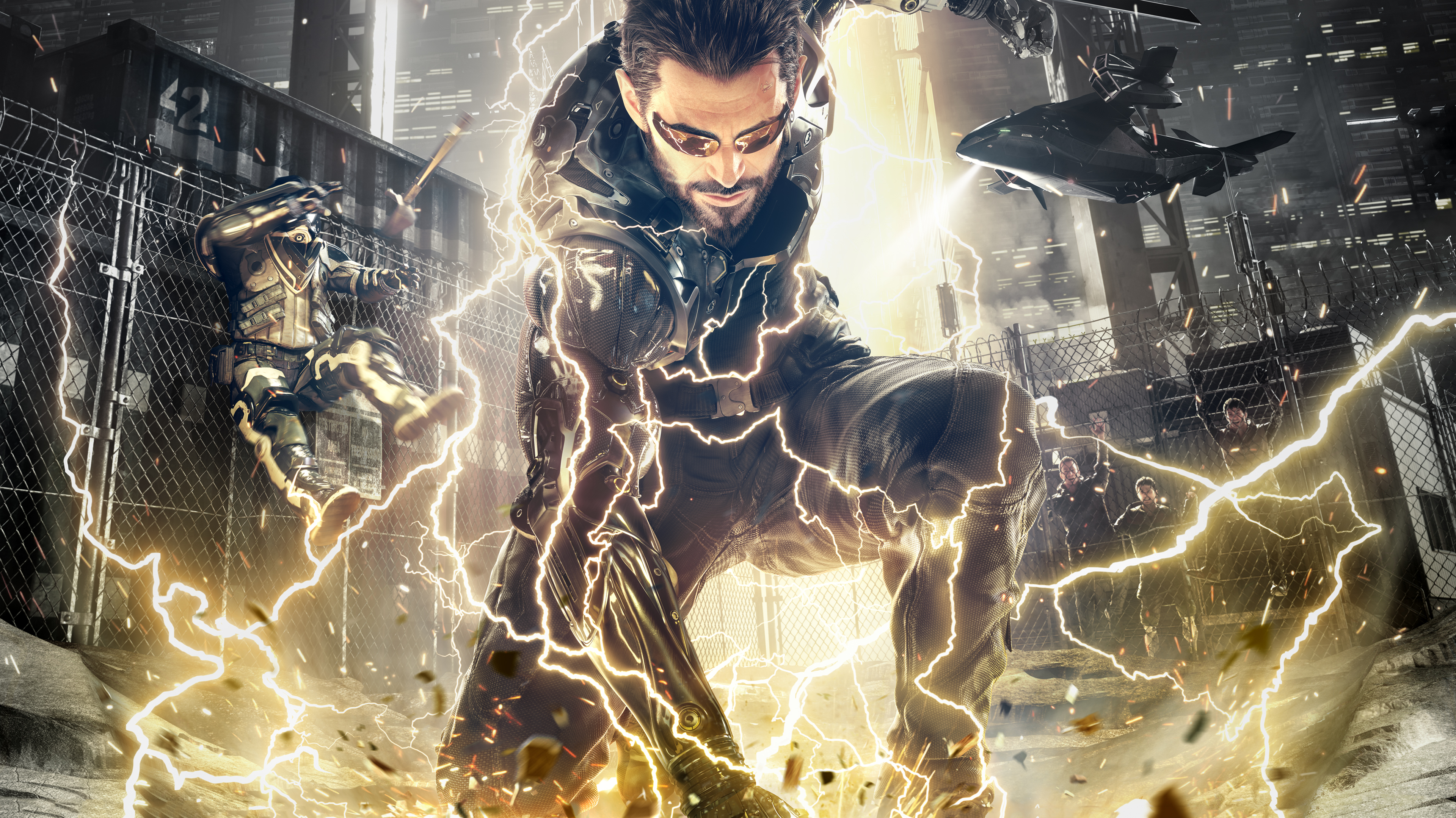 Deus Ex Mankind Divided 4k 2018 Hd Games 4k Wallpapers Images