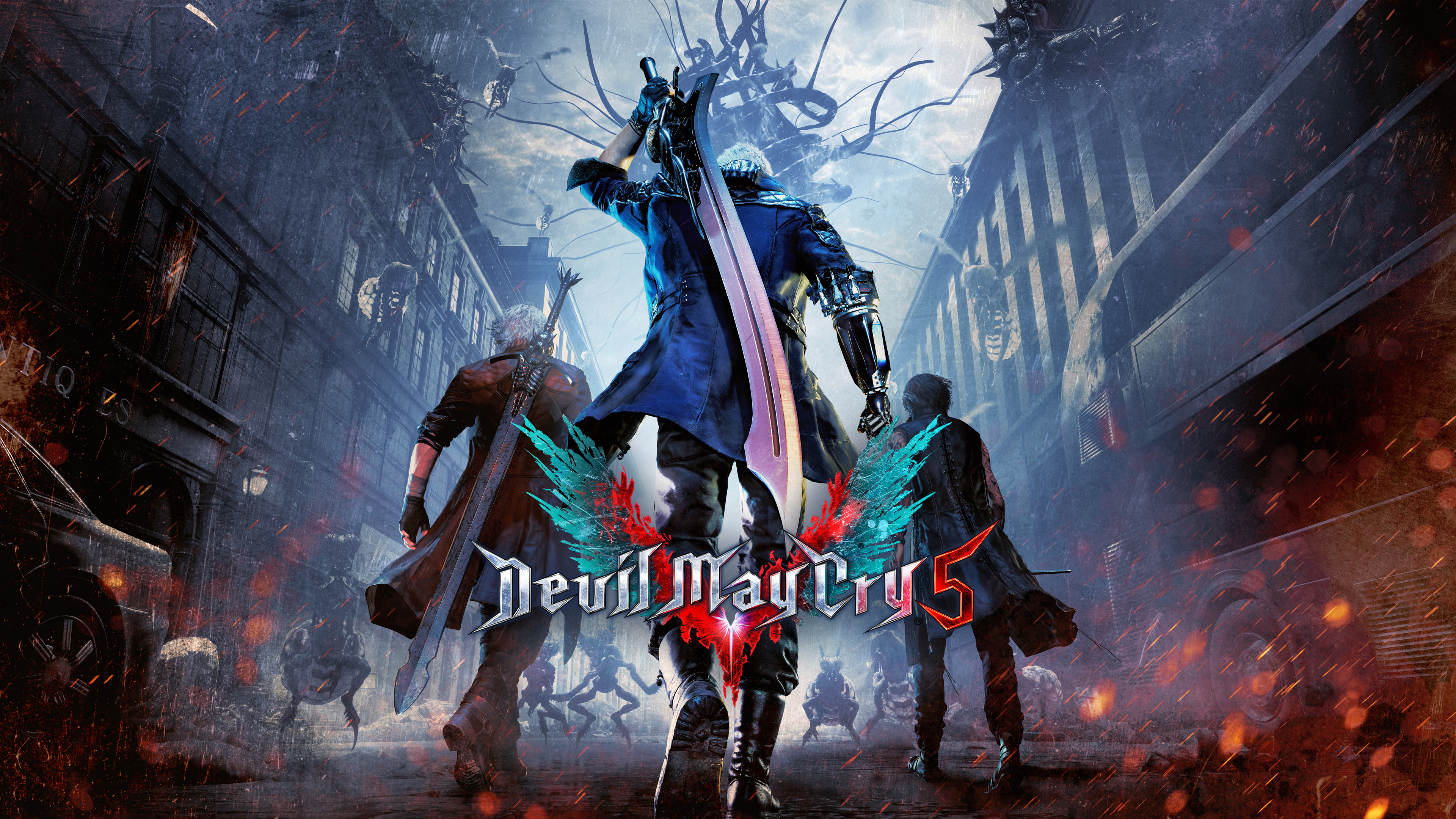 Devil May Cry 5 4k Hd Games 4k Wallpapers Images Backgrounds Photos And Pictures