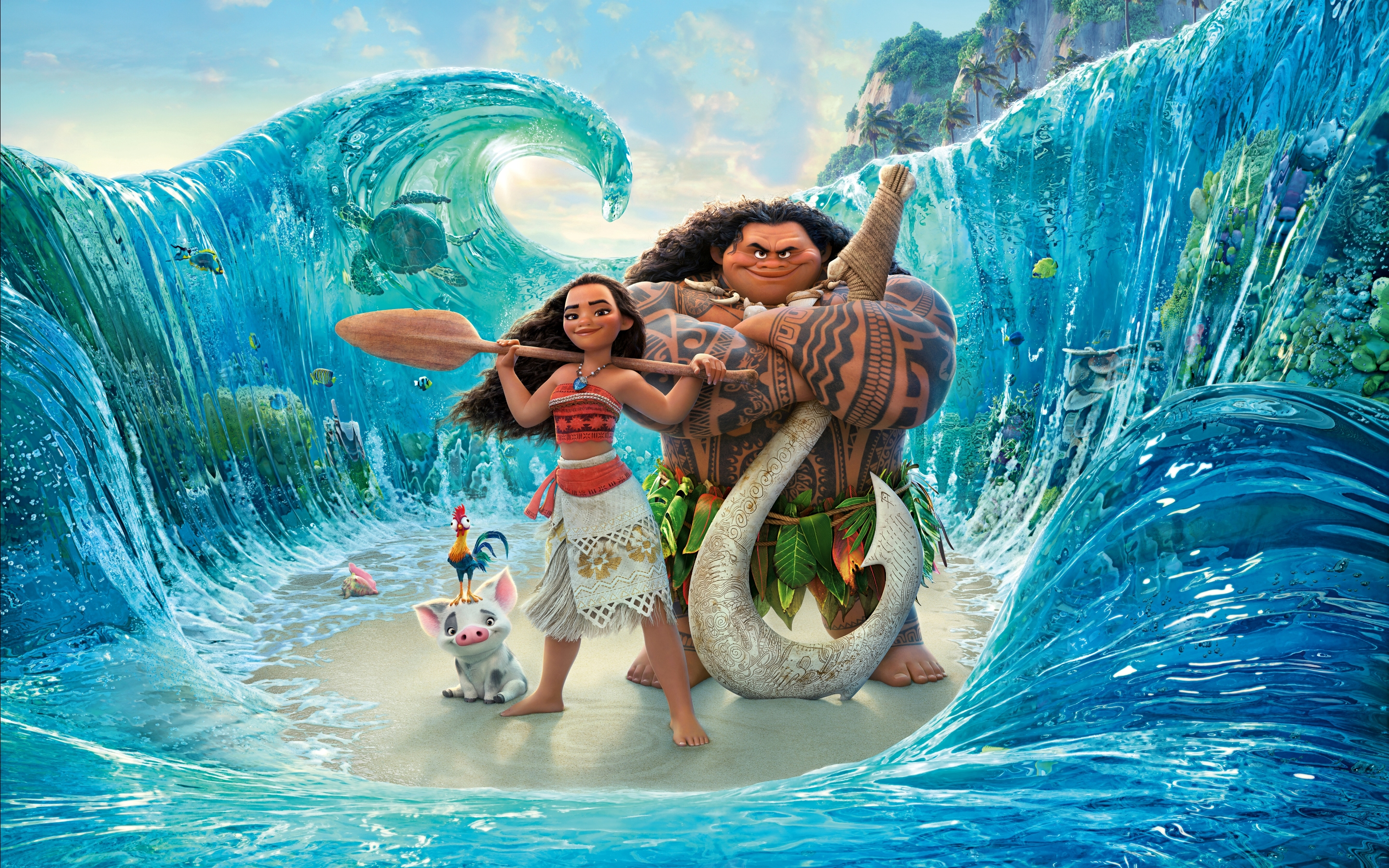 2048x2048 Disney Moana 4k Ipad Air Hd 4k Wallpapers Images Backgrounds Photos And Pictures