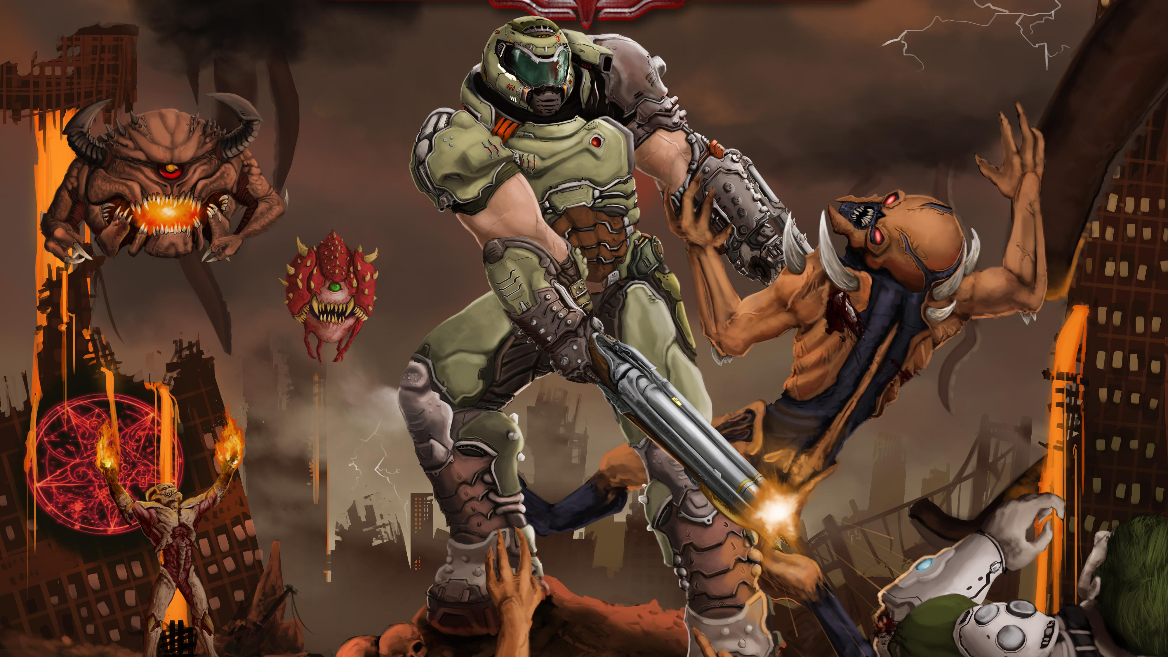 Doom Eternal 4k Hd Games 4k Wallpapers Images Backgrounds