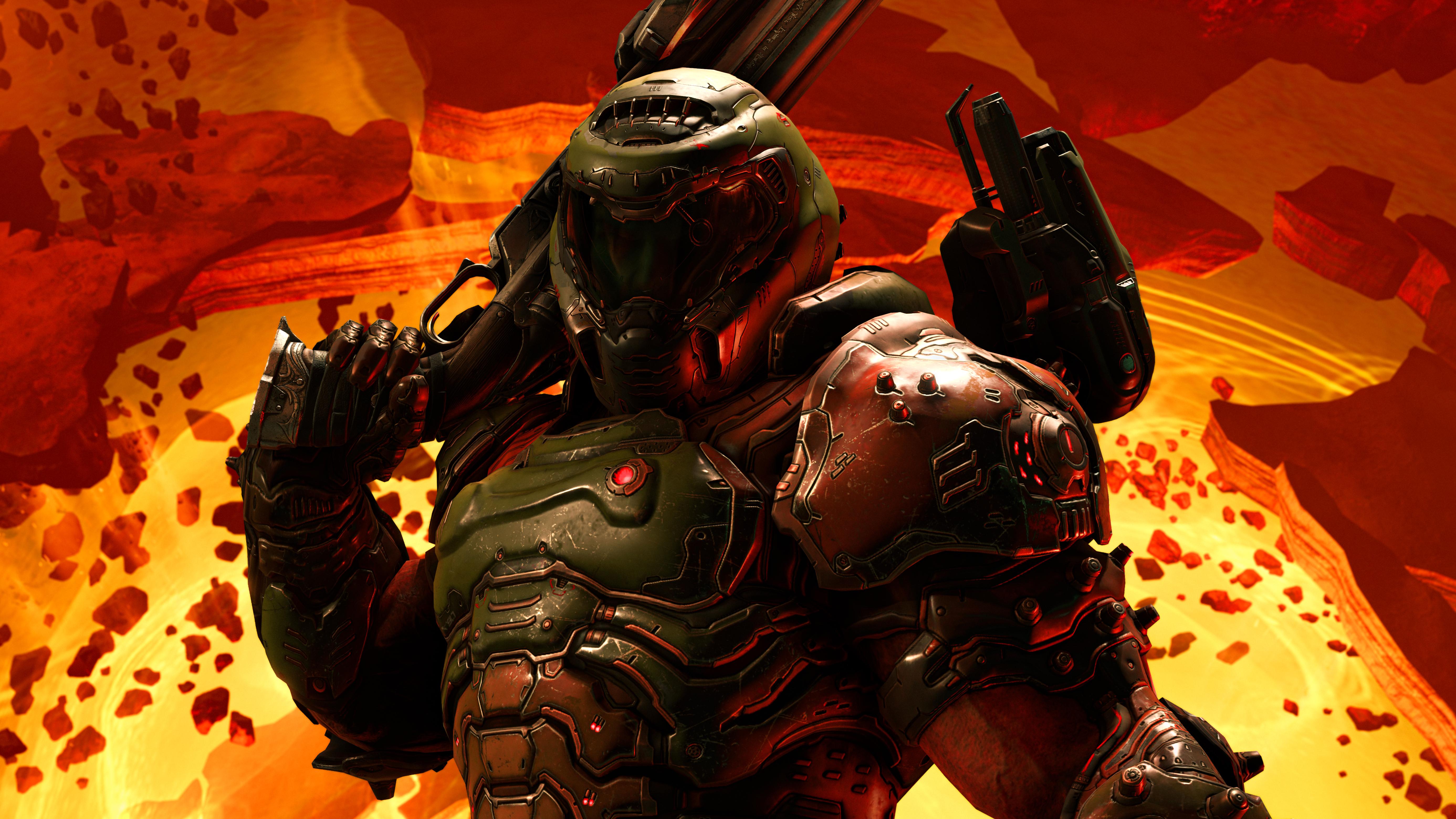 Doom Eternal 5k 2020, HD Games, 4k Wallpapers, Images ...