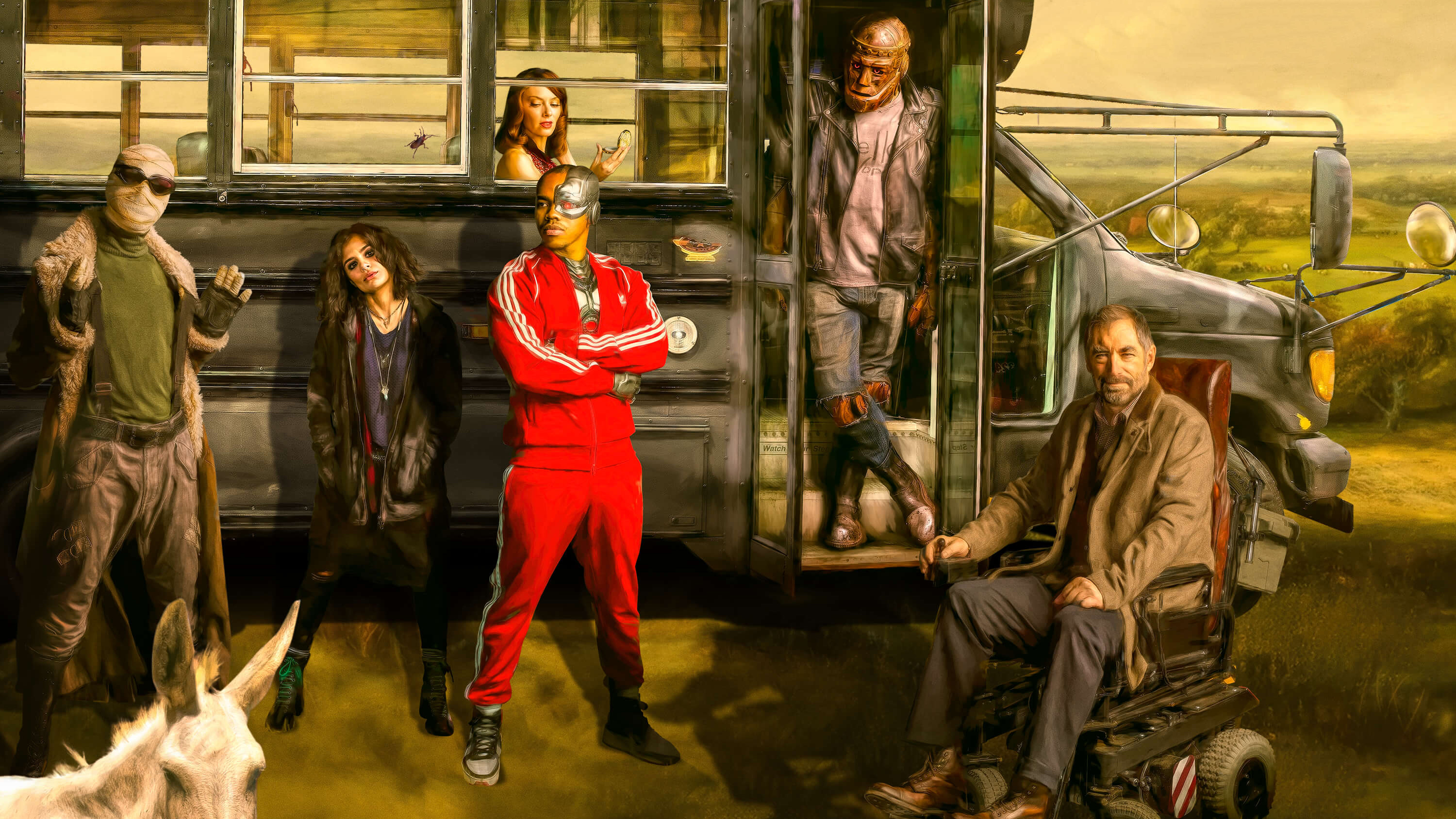 Doom Patrol Hd Tv Shows 4k Wallpapers Images Backgrounds