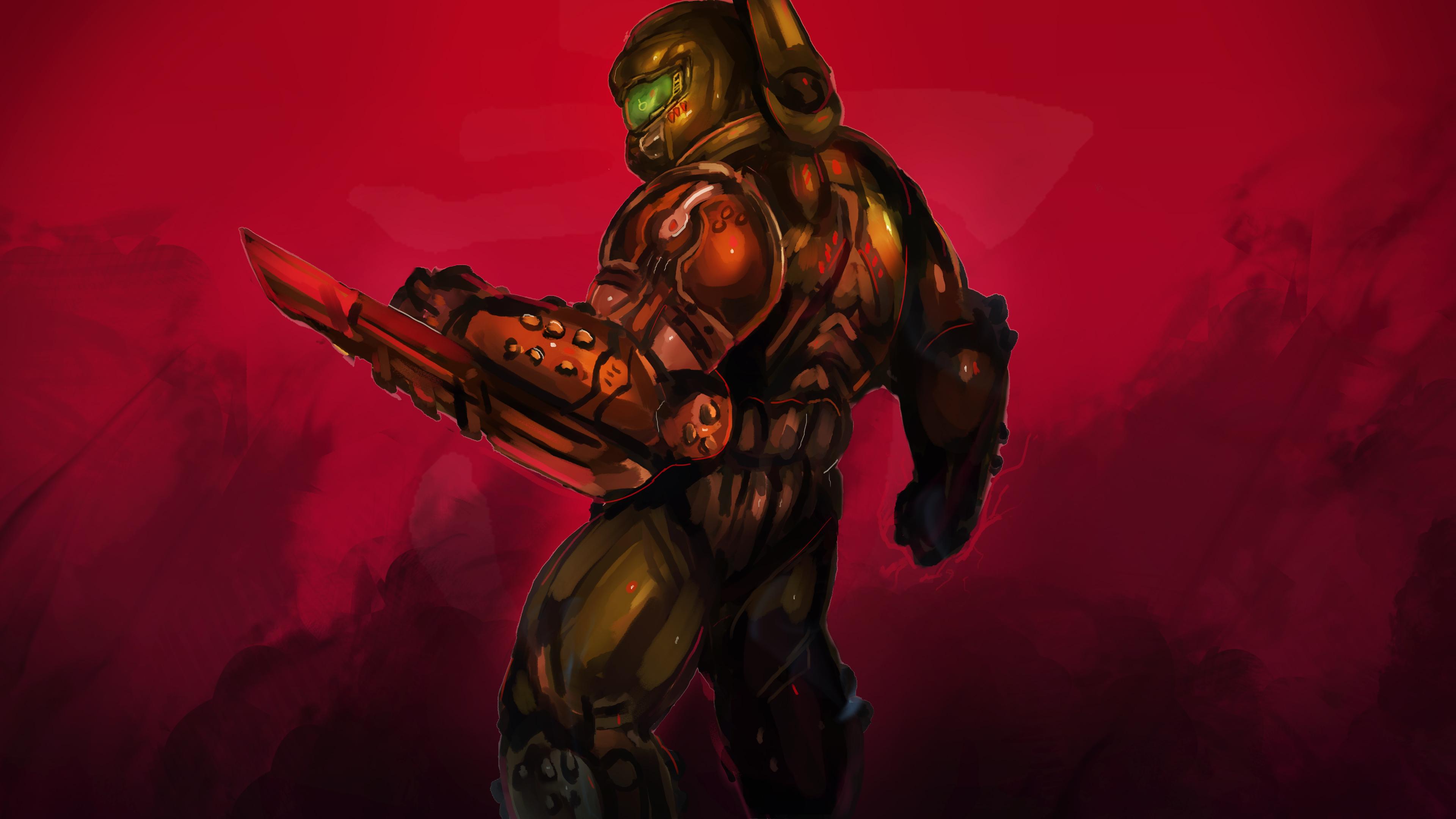 Doom Slayer 4k, HD Games, 4k Wallpapers, Images ...
