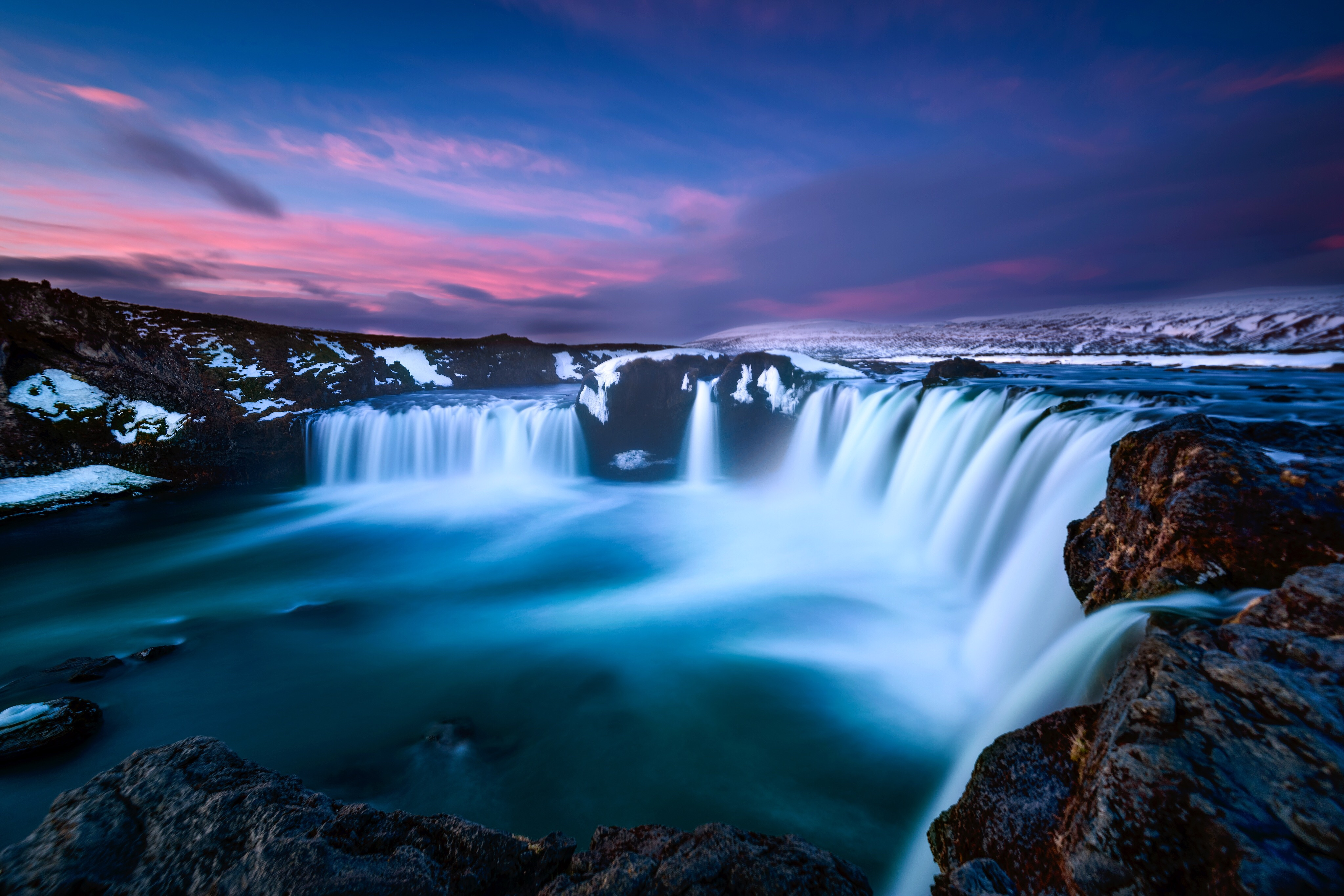 Dreamy Waterfall 4k Hd Nature 4k Wallpapers Images Backgrounds Photos And Pictures