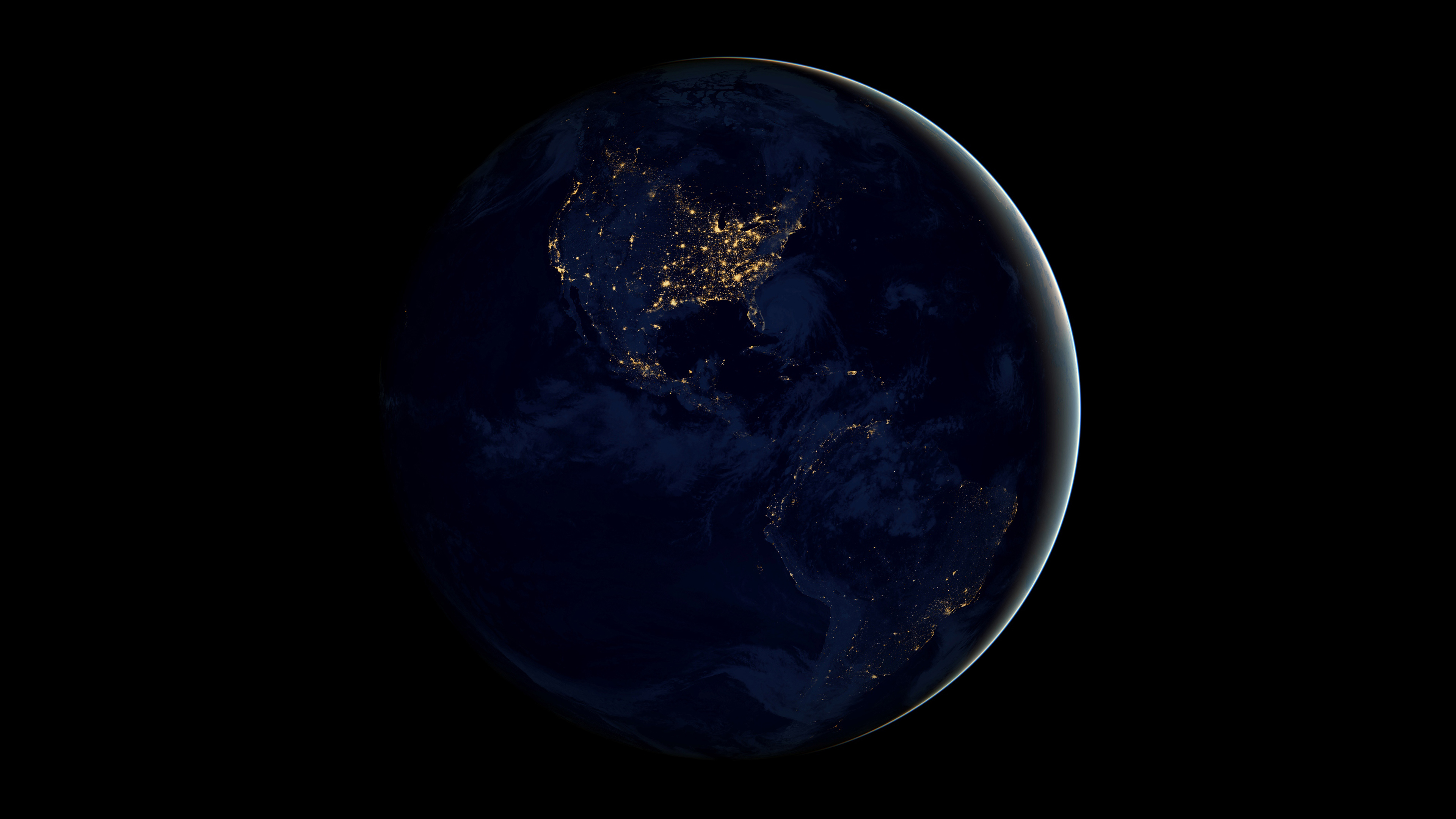 Earth From Space 4k Hd Digital Universe 4k Wallpapers Images Backgrounds Photos And Pictures