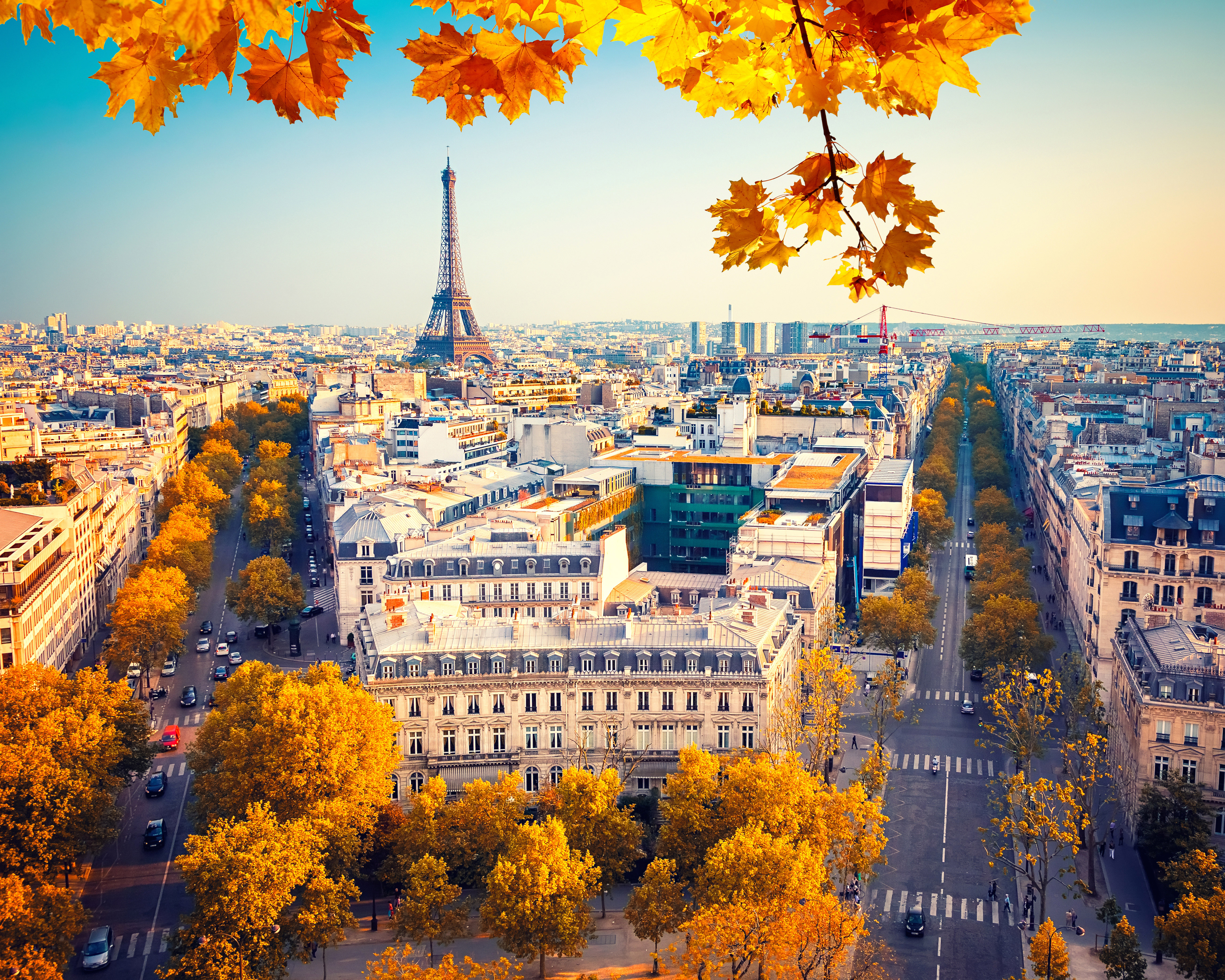 2048x2048 Eiffel Tower Paris City Autumn 4k 5k Ipad Air Hd 4k Wallpapers Images Backgrounds Photos And Pictures