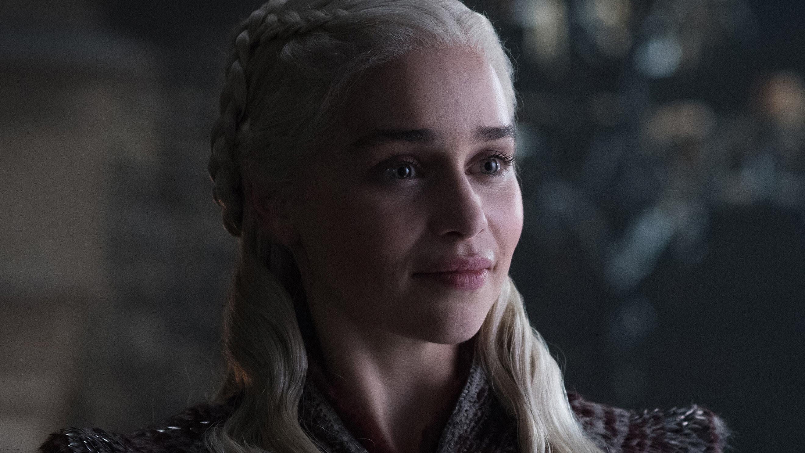 Emilia Clarke As Daenerys Targaryen Game Of Thrones Season 8 Hd