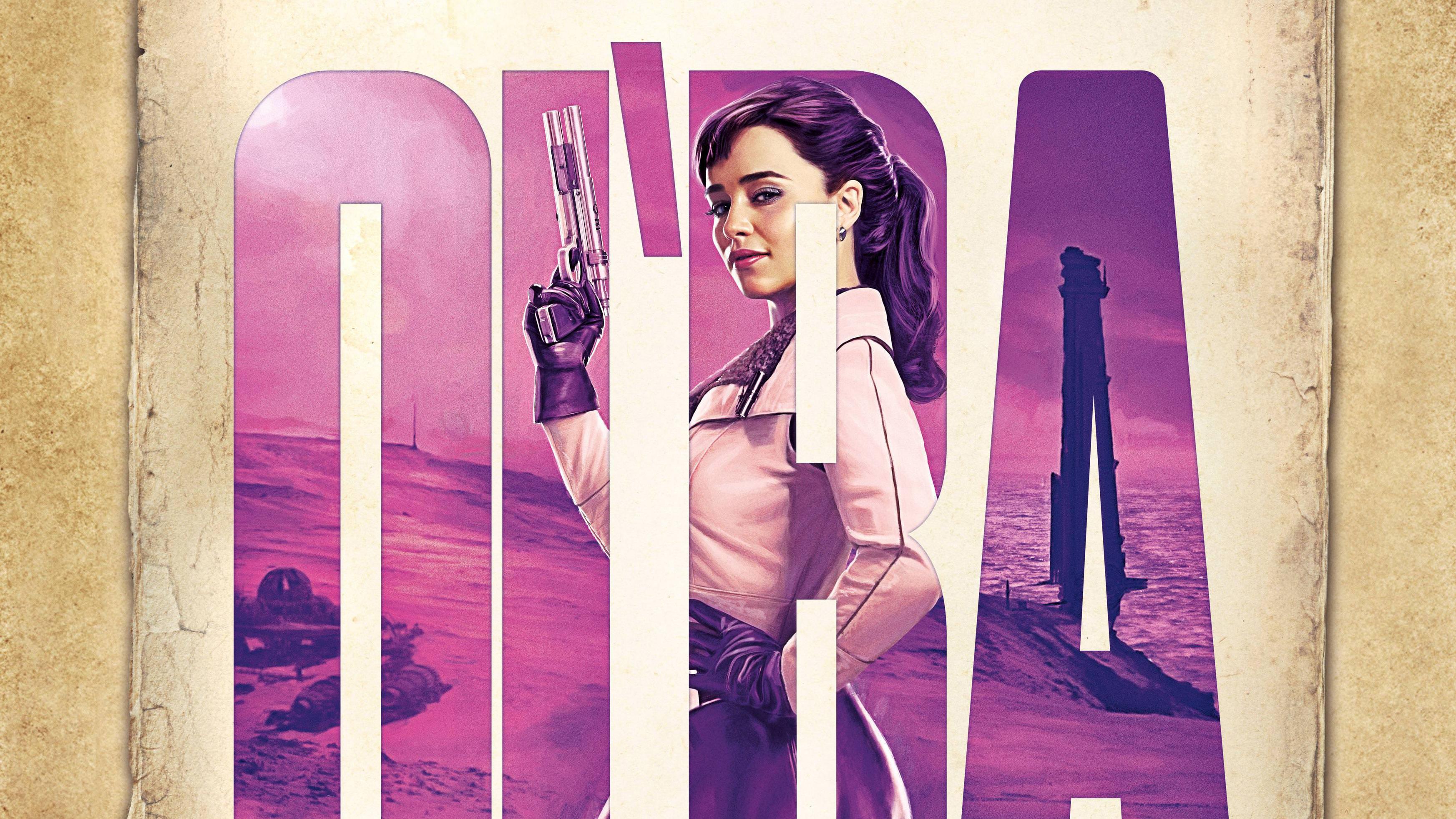 emilia clarke as qira solo a star wars story y6