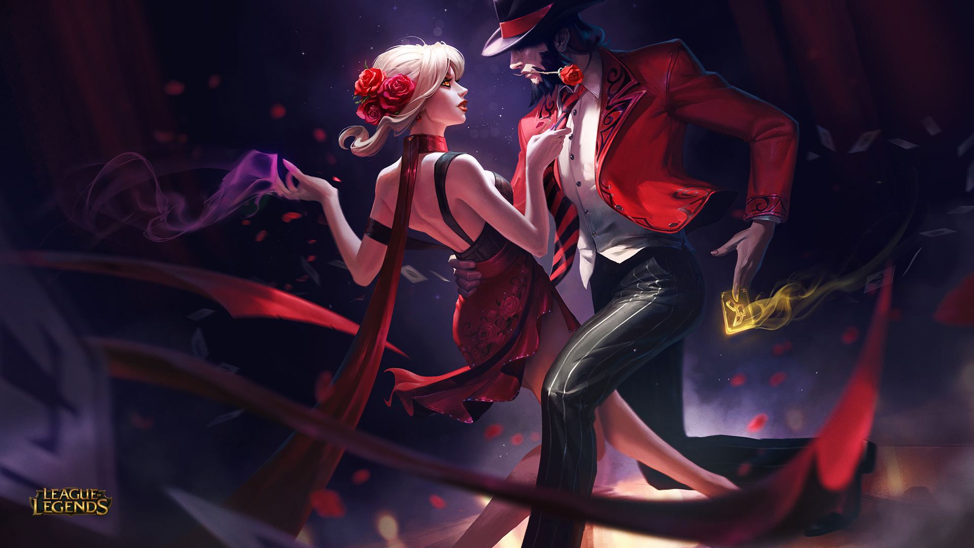 Evelynn And Twisted Fate League Of Legends Hd Games 4k