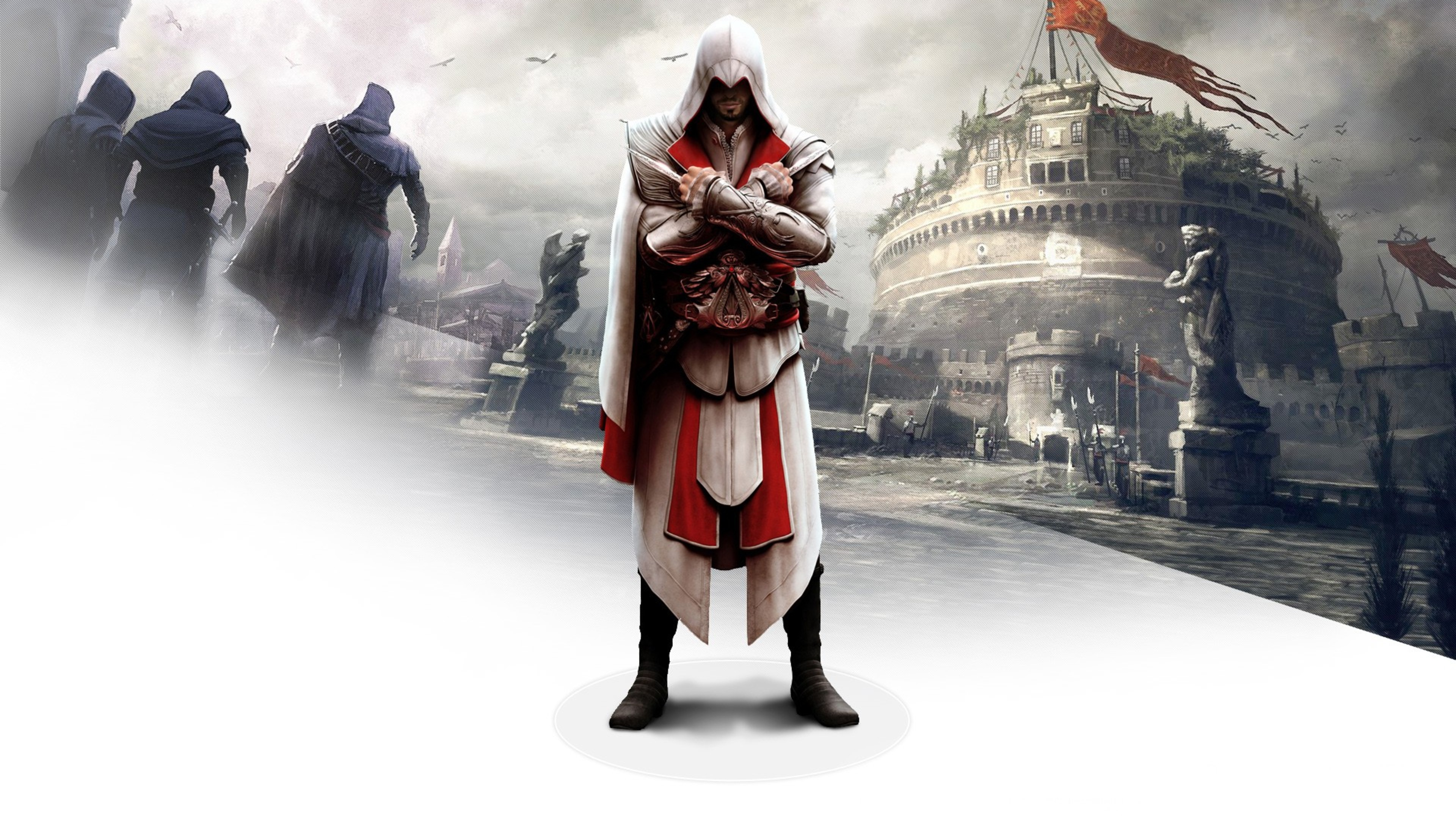 1366x768 Ezio In Assassins Creed Brotherhood 1366x768 Resolution