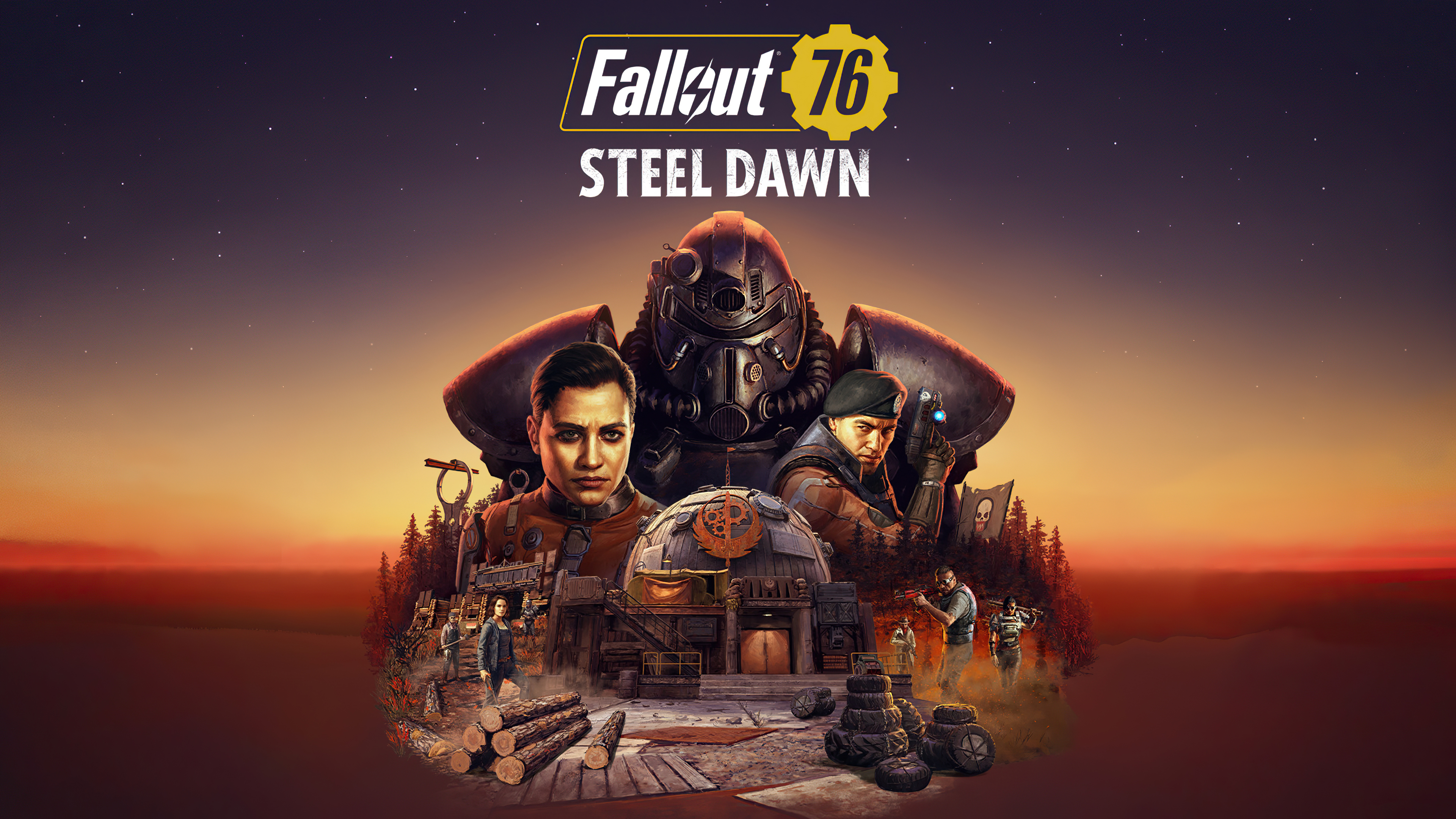 Fallout 76 Steel Dawn 4k Hd Games 4k Wallpapers Images Backgrounds Photos And Pictures