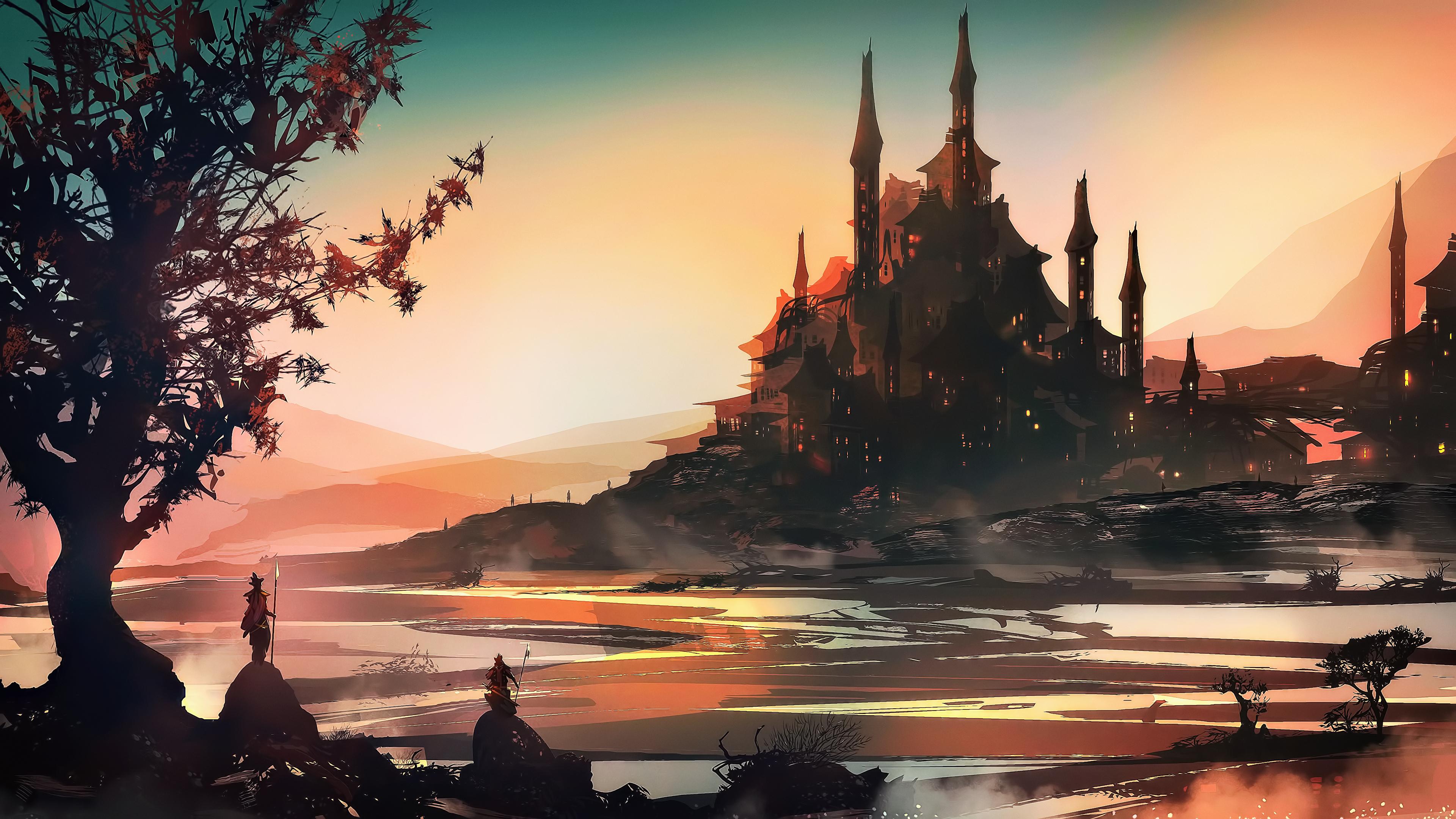 Fantasy Art Landscape Concept Art 4k Hd Artist 4k Wallpapers Images Backgrounds Photos And Pictures