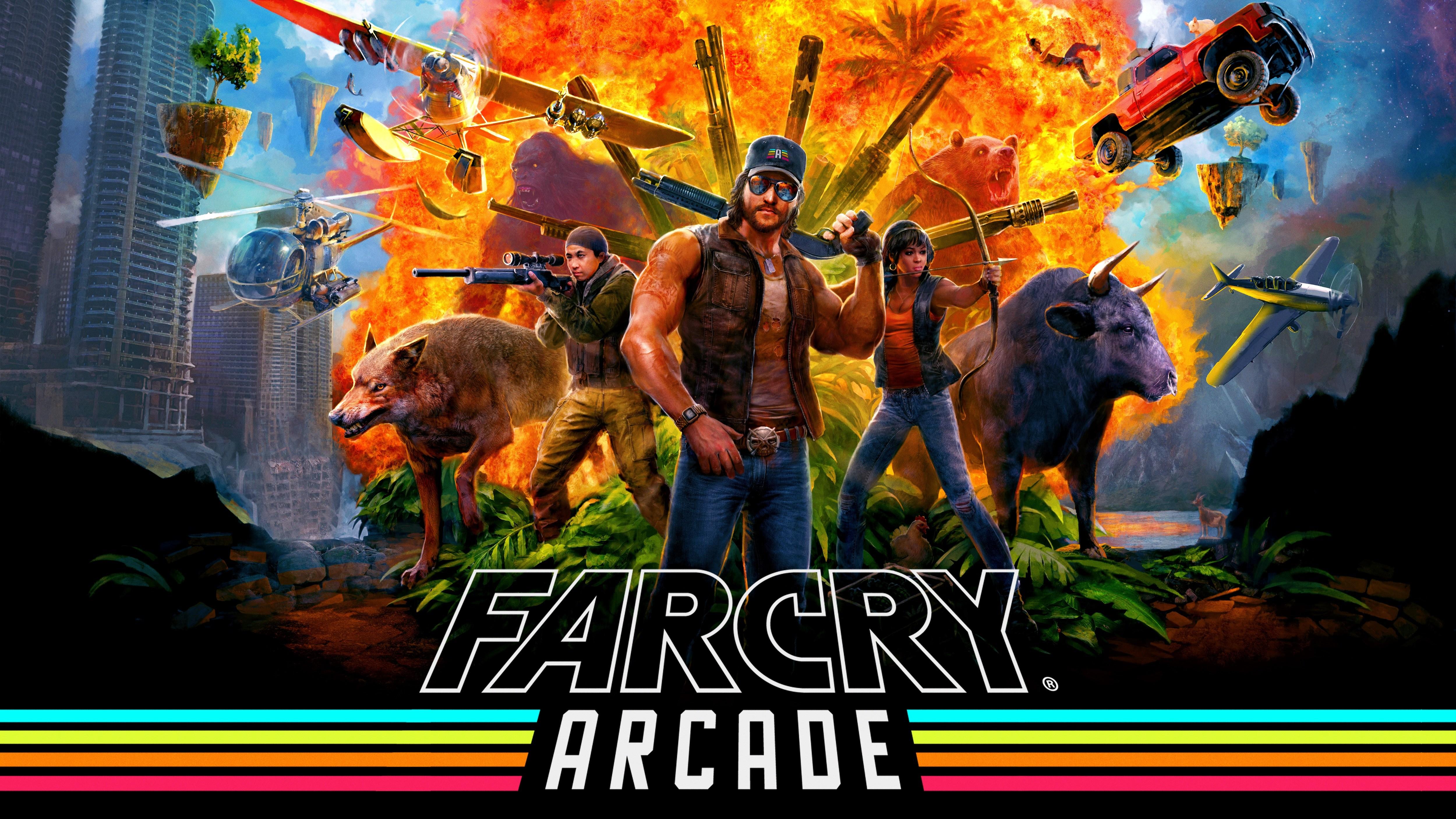1920x1080 Far Cry 5 Arcade 2018 Laptop Full Hd 1080p Hd 4k
