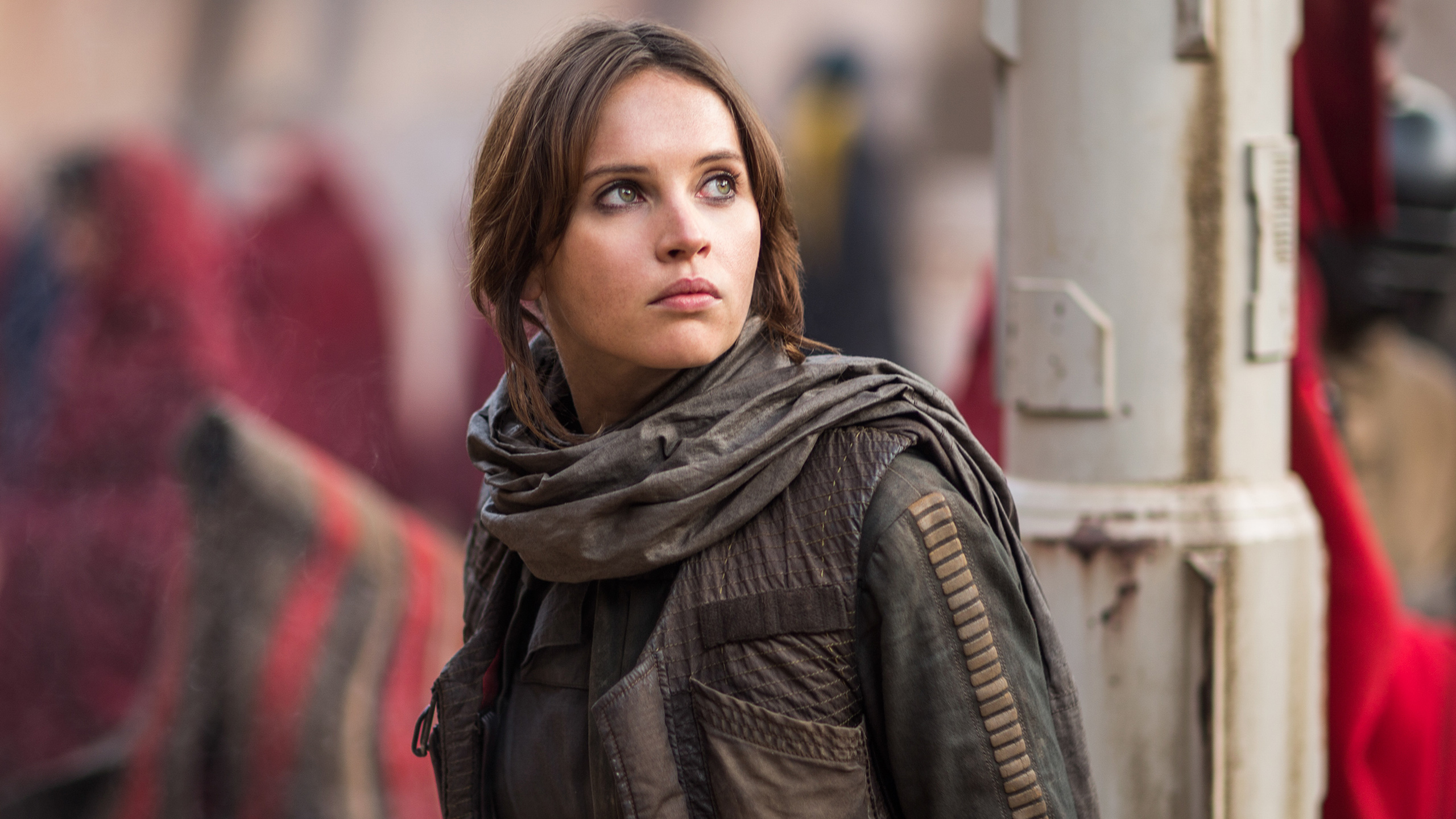 Felicity Jones As Jyn Erso In Rogue One Star Wars Hd Movies 4k Wallpapers Images Backgrounds Photos And Pictures