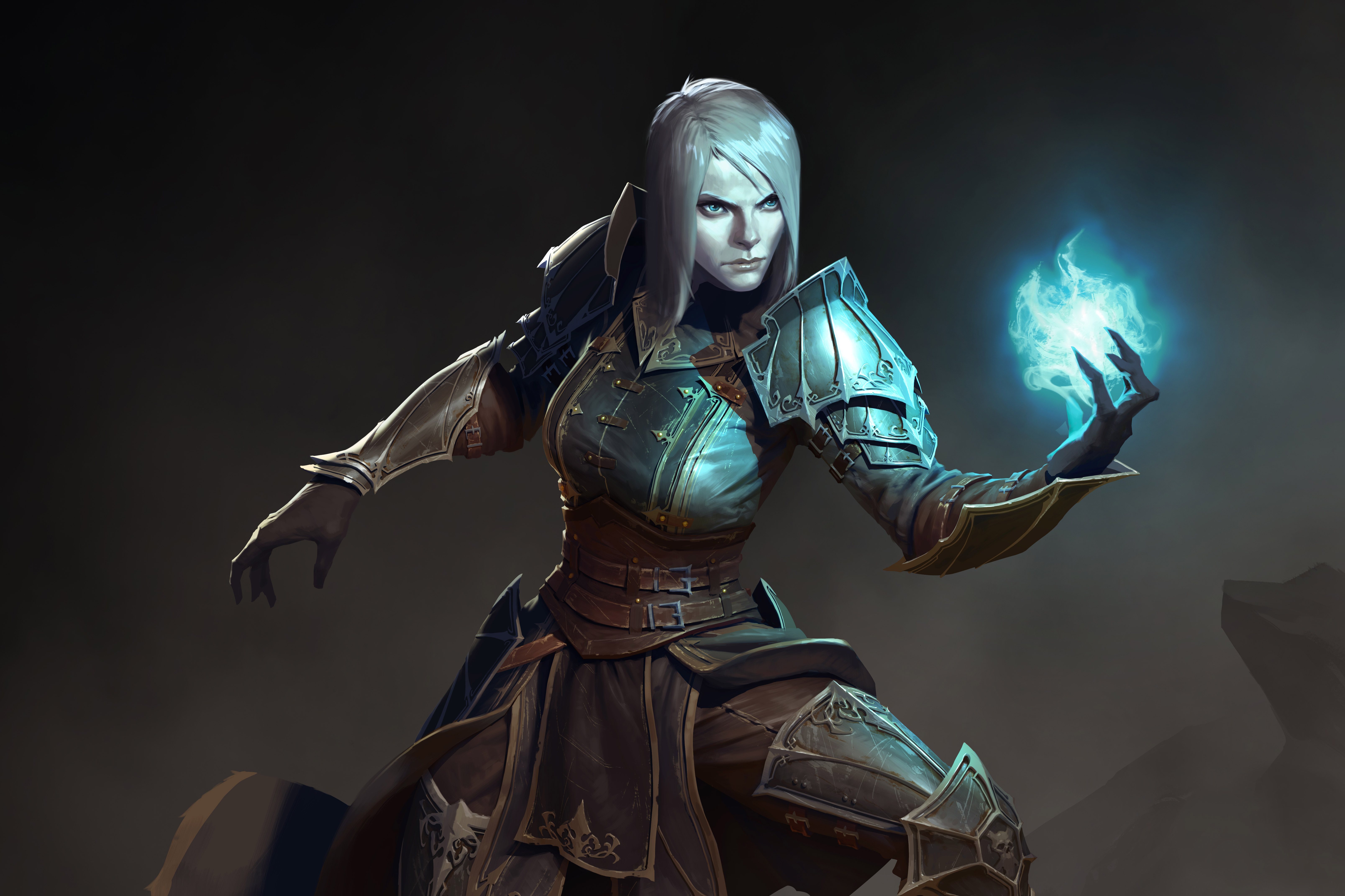 1280x1024 Female Necromancer Diablo Iii 1280x1024 Resolution Hd 4k Wallpapers Images Backgrounds Photos And Pictures