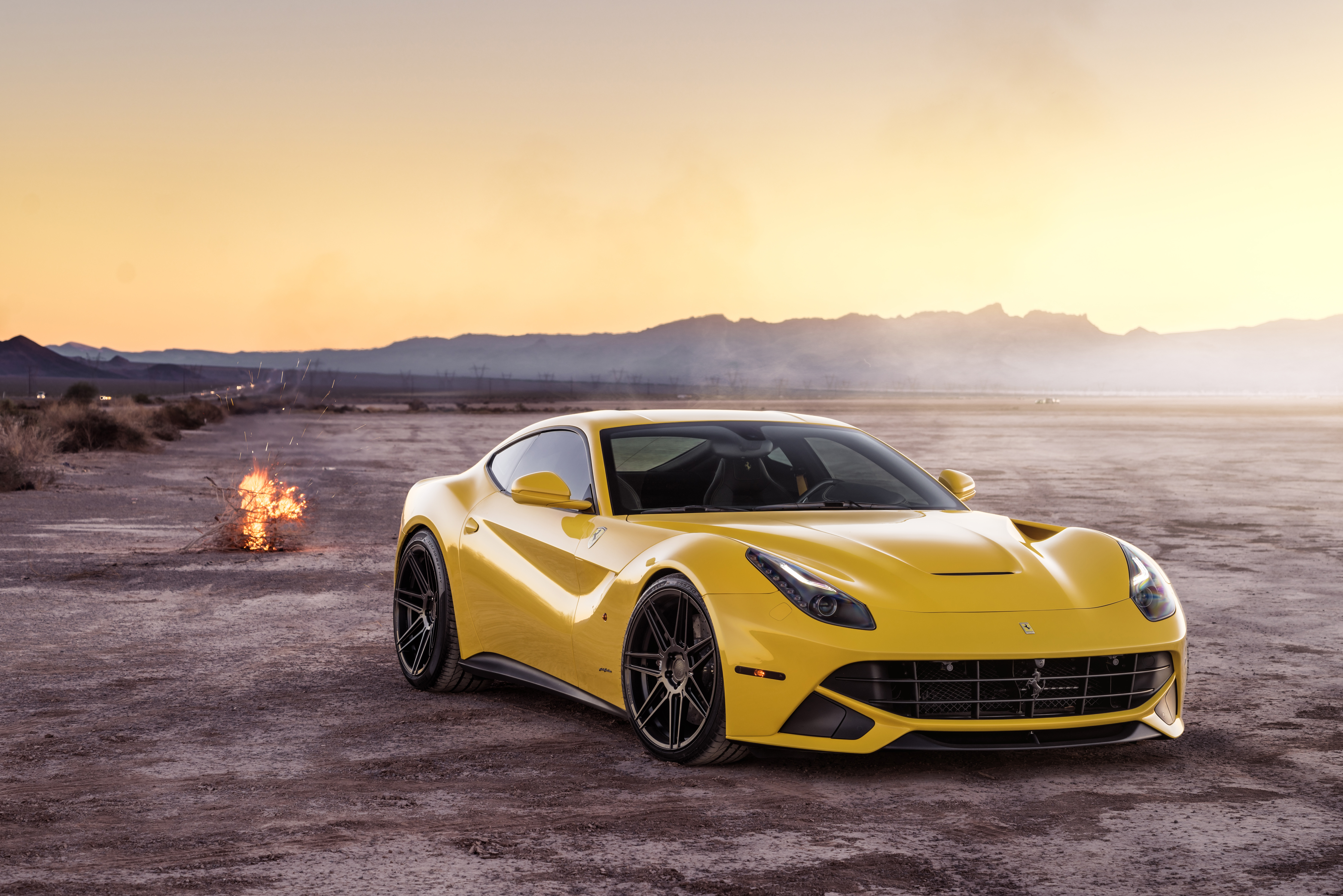 Ferrada Sema Yellow Ferrari F12 Front Hd Cars 4k Wallpapers Images Backgrounds Photos And Pictures