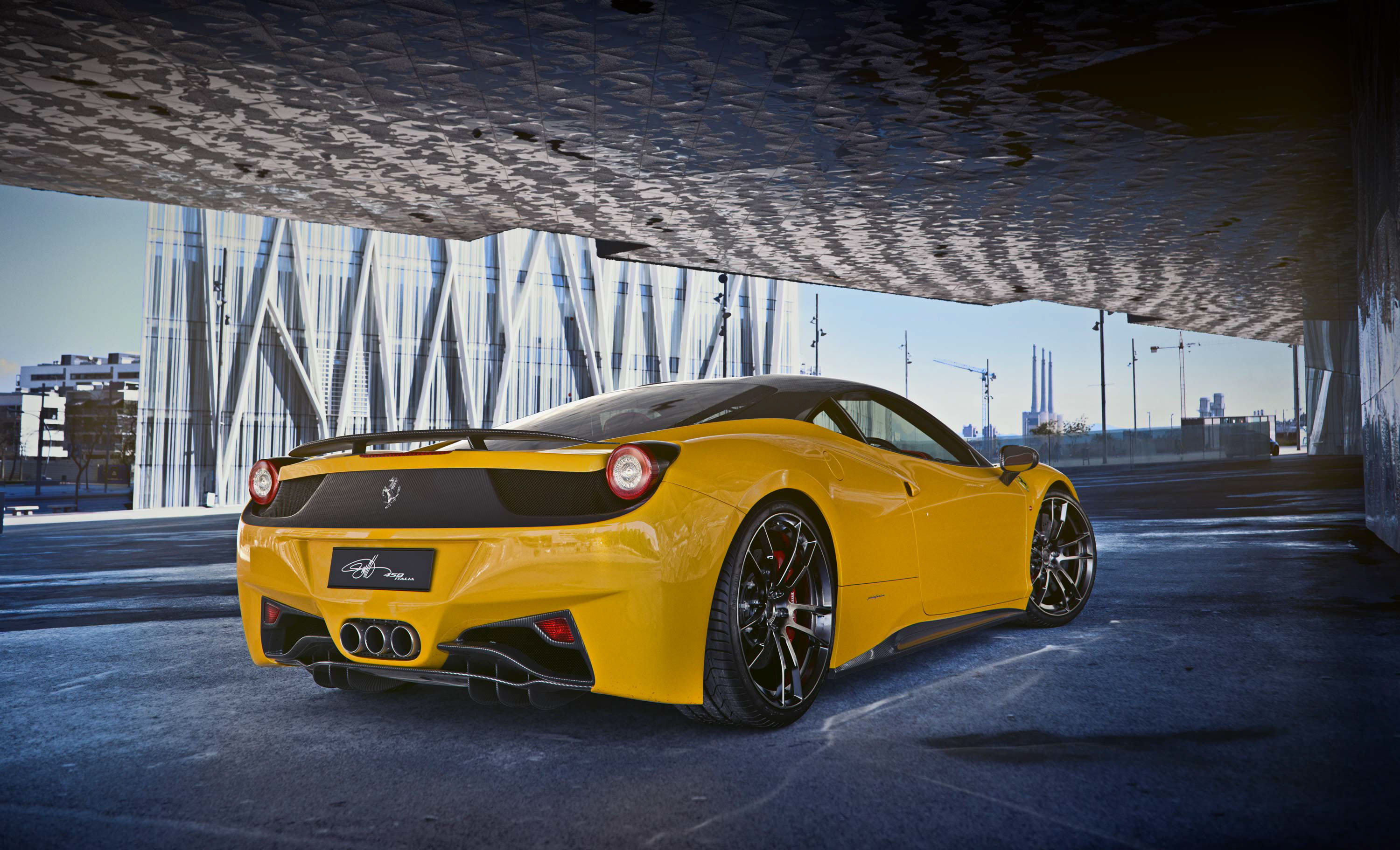 1366x768 Ferrari 458 Italia Yellow 2018 1366x768 Resolution Hd 4k Wallpapers Images Backgrounds Photos And Pictures
