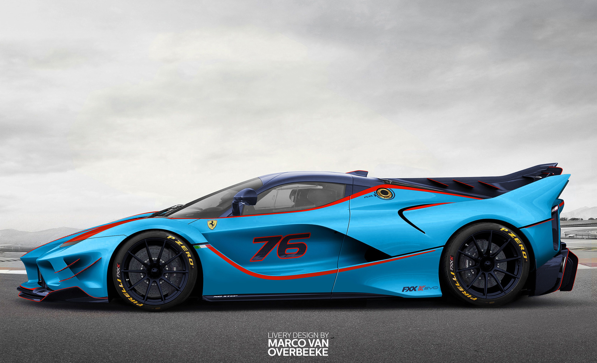Ferrari Laferrari Fxx K Evo Side View Hd Cars 4k Wallpapers Images Backgrounds Photos And Pictures