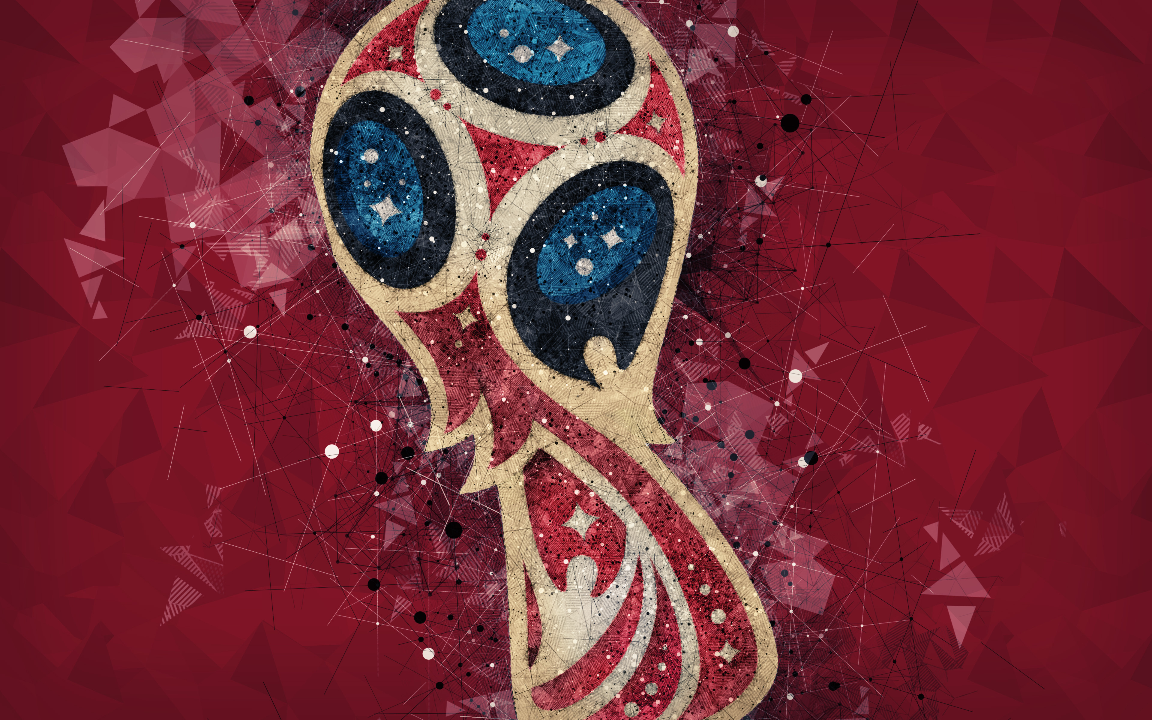 Fifa World Cup Russia Logo Hd Sports 4k Wallpapers Images