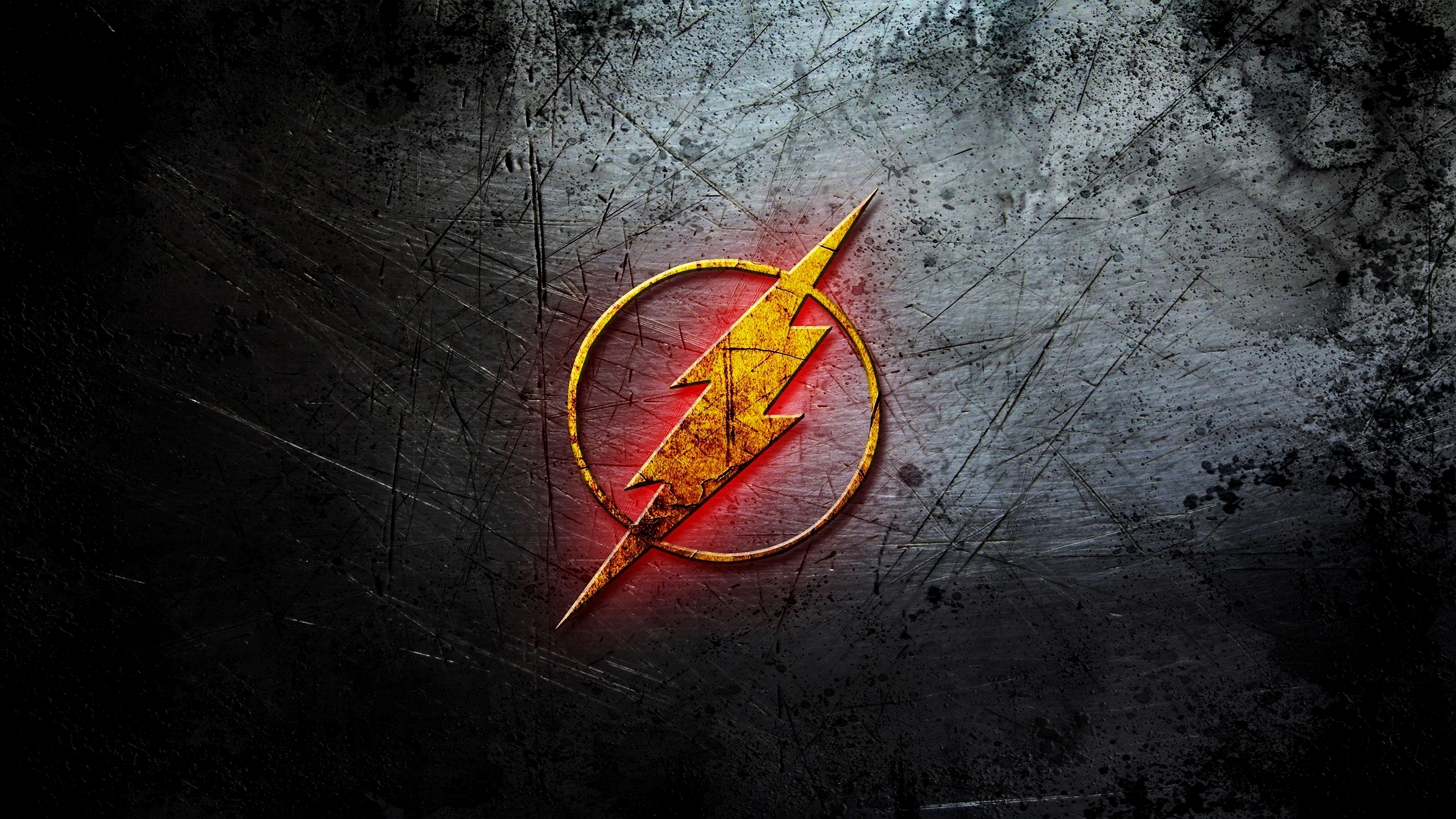 Flash Logo Dc Comic Hd Logo 4k Wallpapers Images Backgrounds