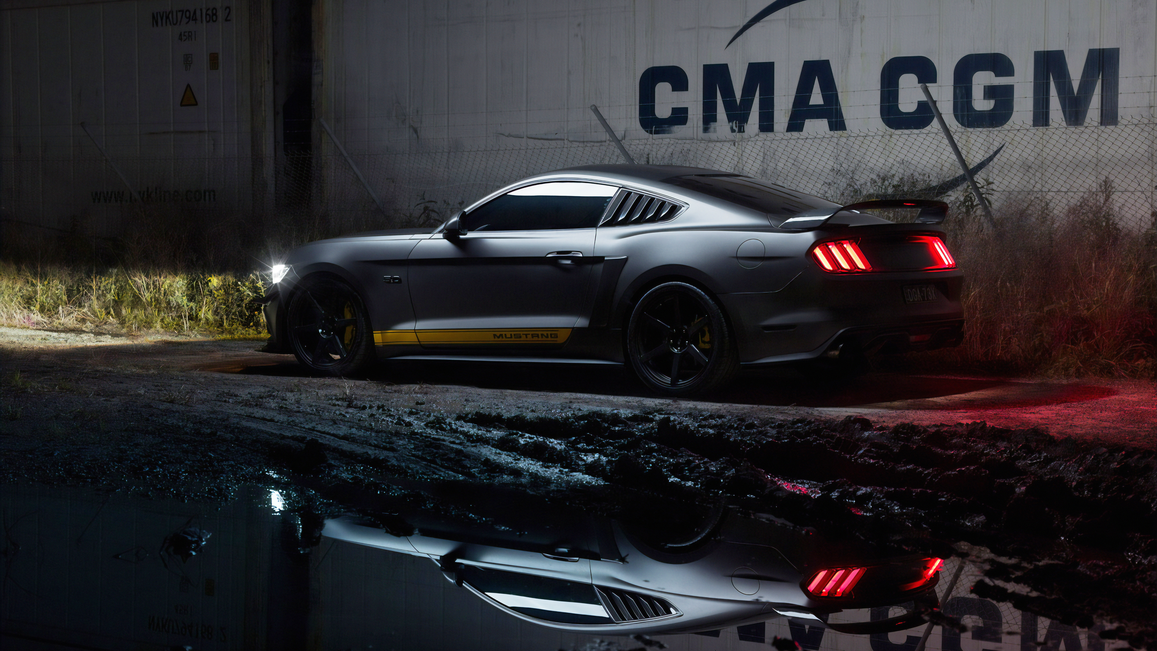 Ford Mustang In Mud Hd Cars 4k Wallpapers Images Backgrounds Photos And Pictures