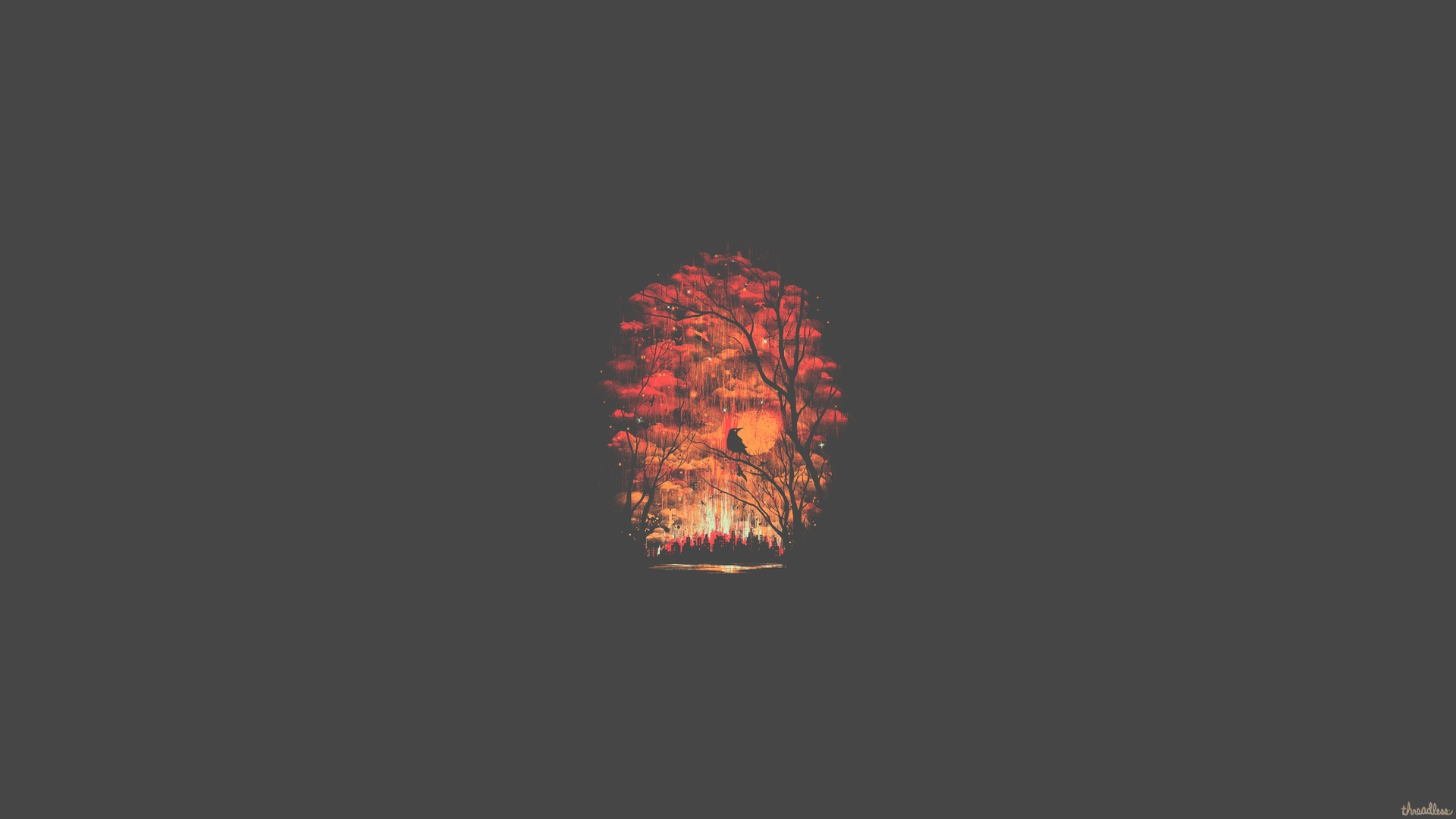 Forest Minimalist, HD Artist, 4k Wallpapers, Images ...