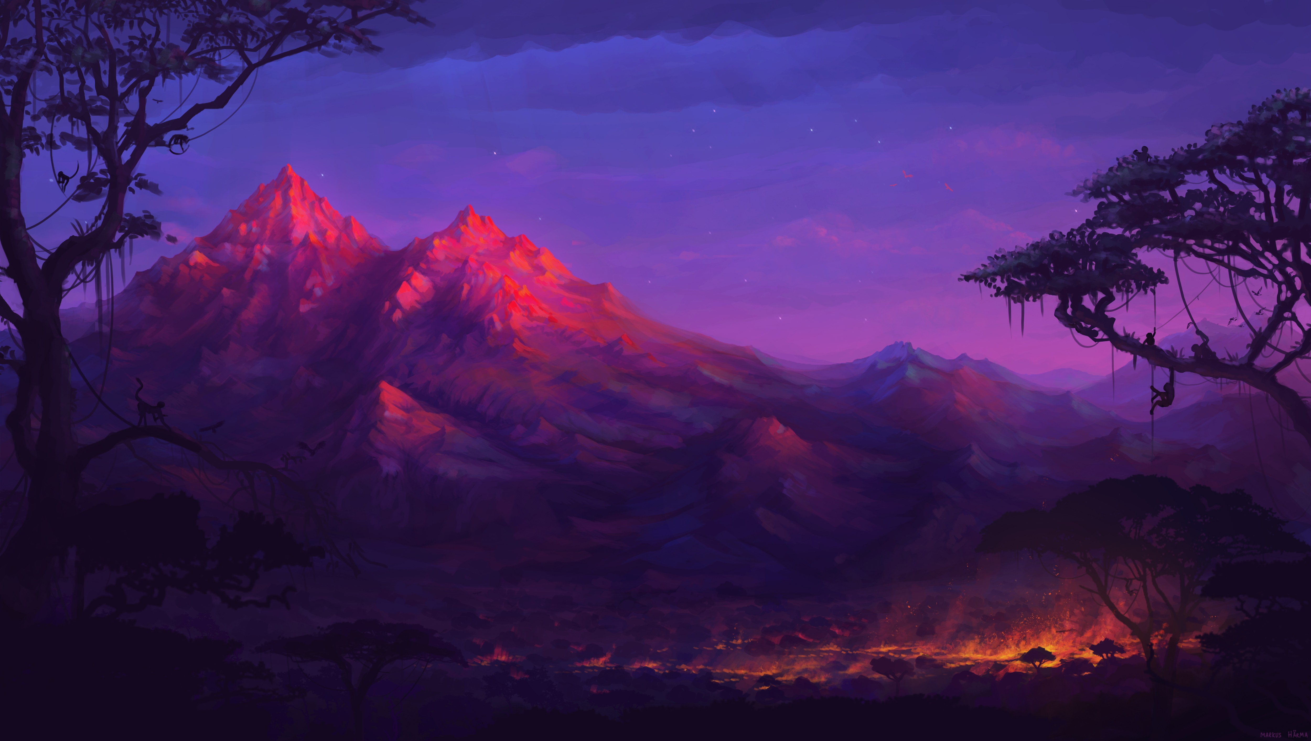 Rise of Cults 2 Bot (Beta abierta) - Página 5 Forest-mountains-colorful-night-trees-fantasy-artwork-5k-bq