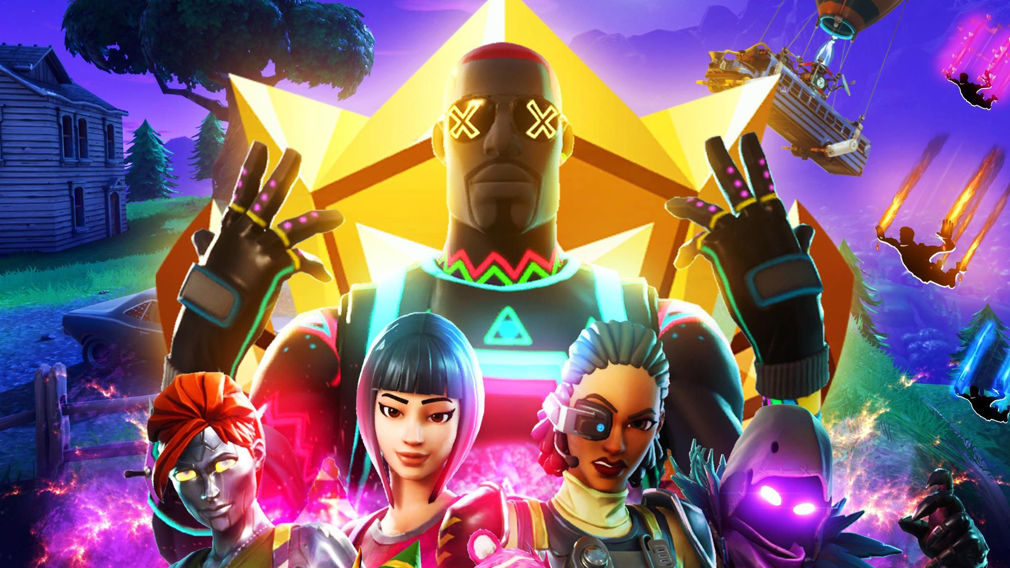 2048x2048 Fortnite Avengers Ipad Air Hd 4k Wallpapers Images Backgrounds Photos And Pictures