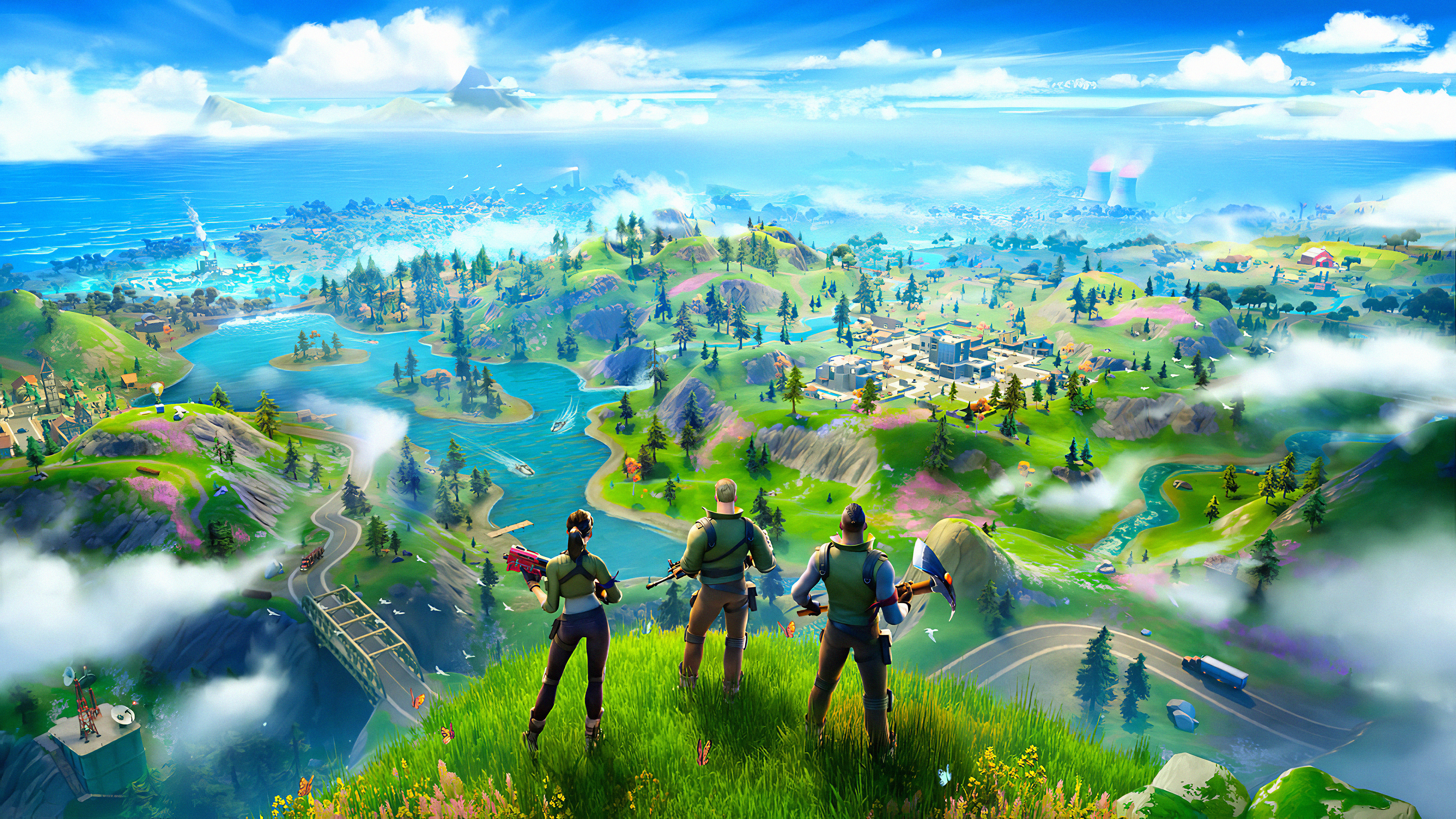 Fortnite Chapter 2 2019 Hd Games 4k Wallpapers Images Backgrounds Photos And Pictures