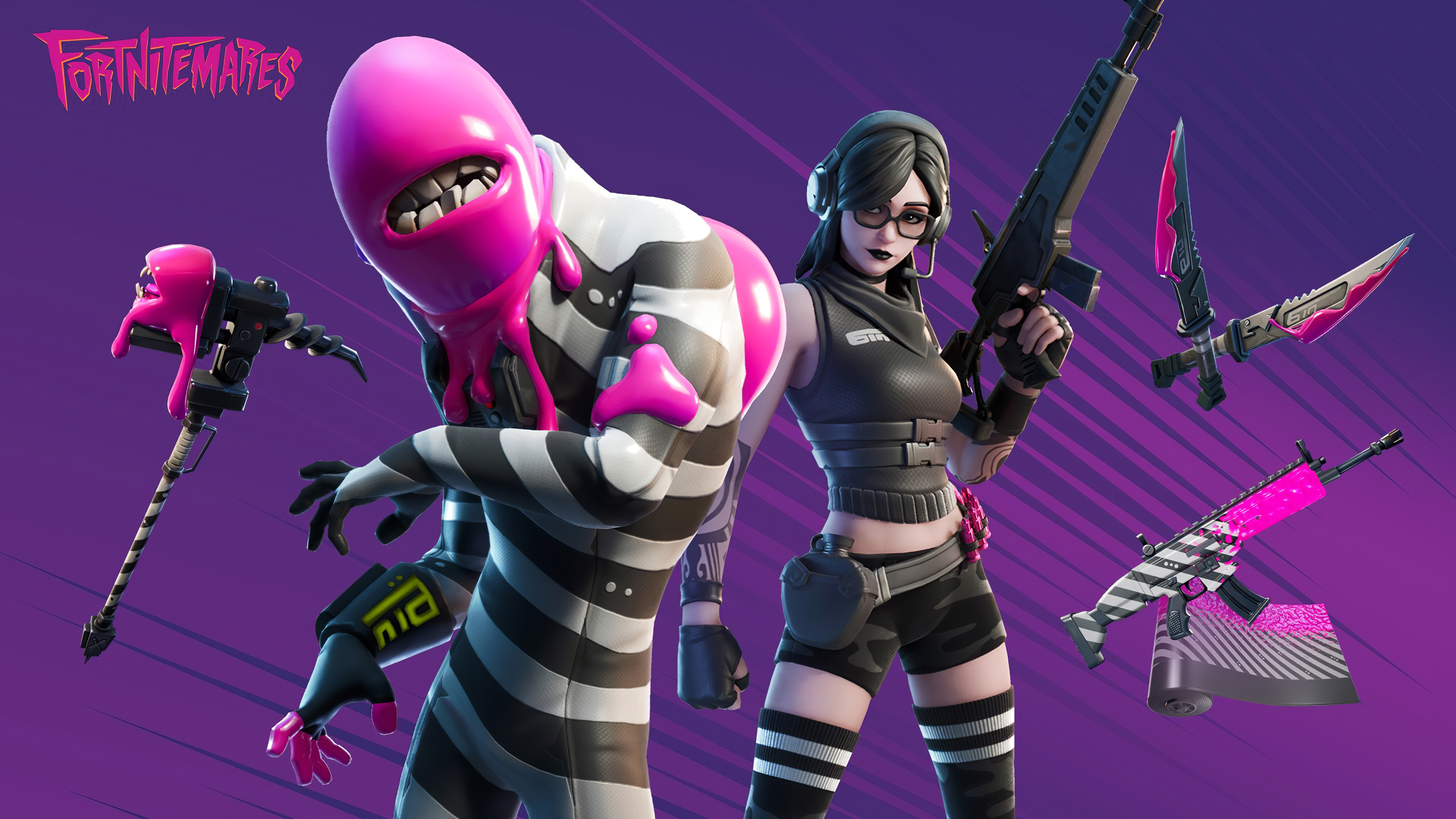 1600x900 Fortnitemares Jawbreaker Outfit 1600x900 Resolution Hd 4k Wallpapers Images Backgrounds Photos And Pictures