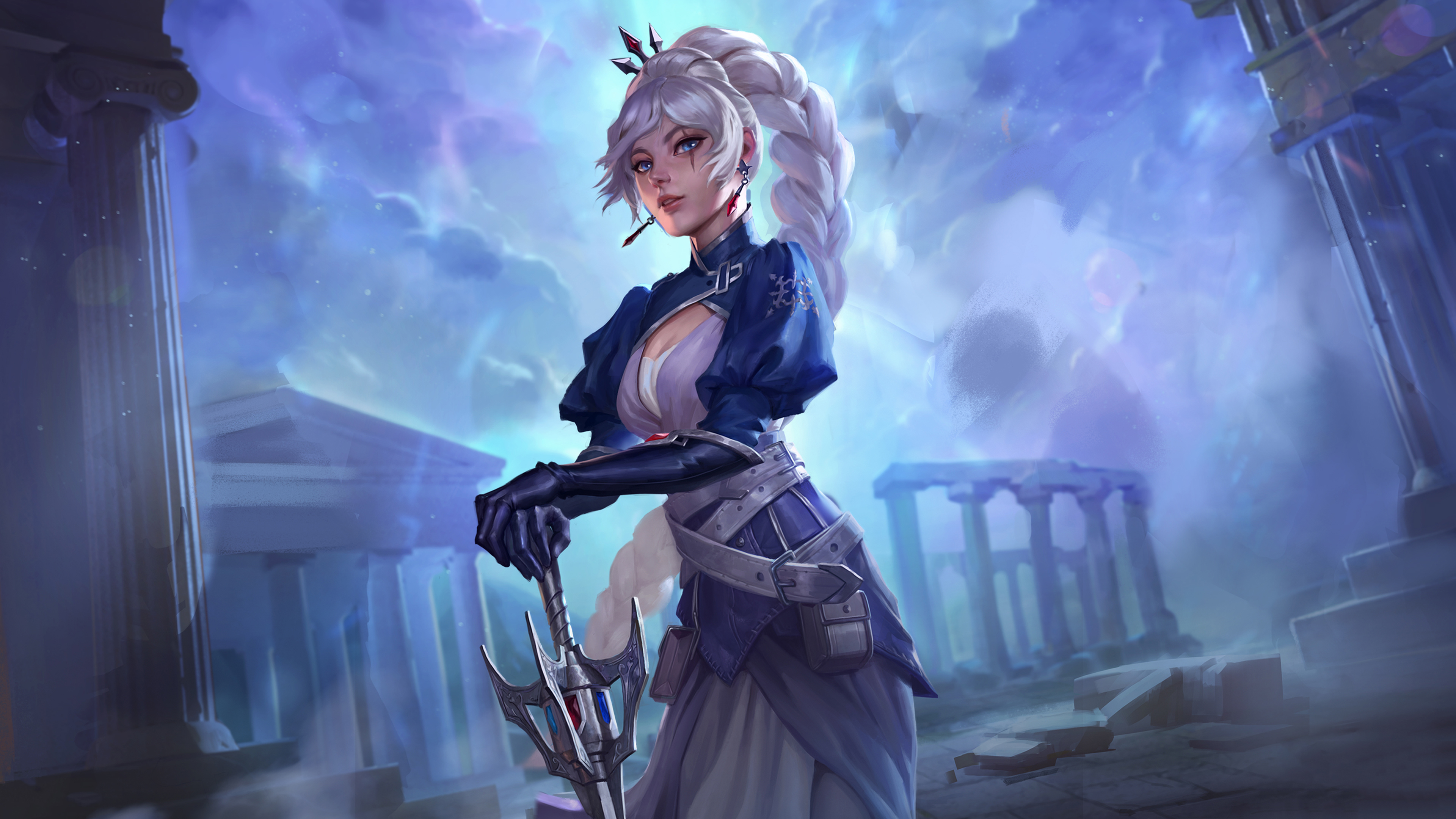 Freya Smite 4k Hd Games 4k Wallpapers Images Backgrounds Photos And Pictures