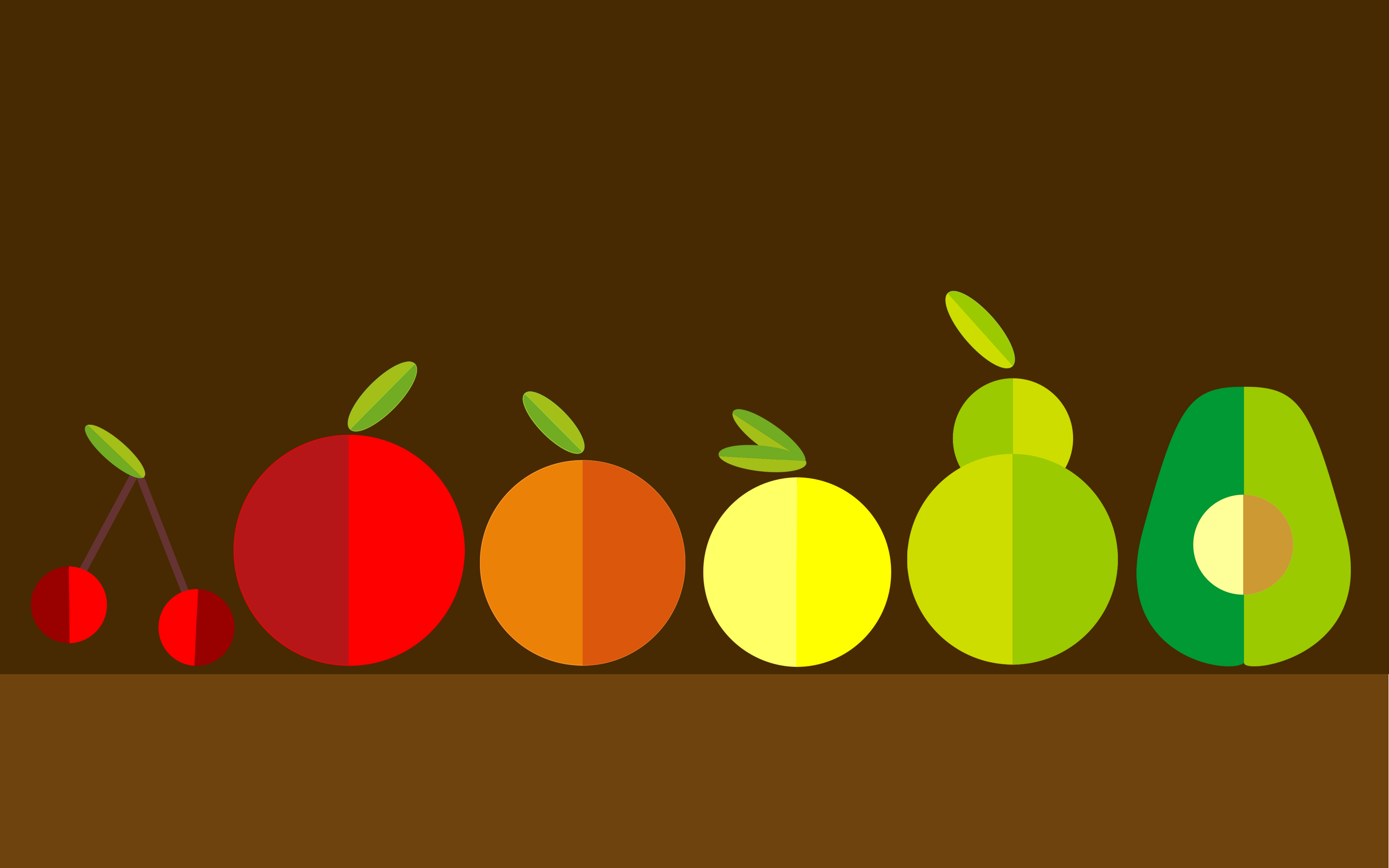 fruits minimalism pic