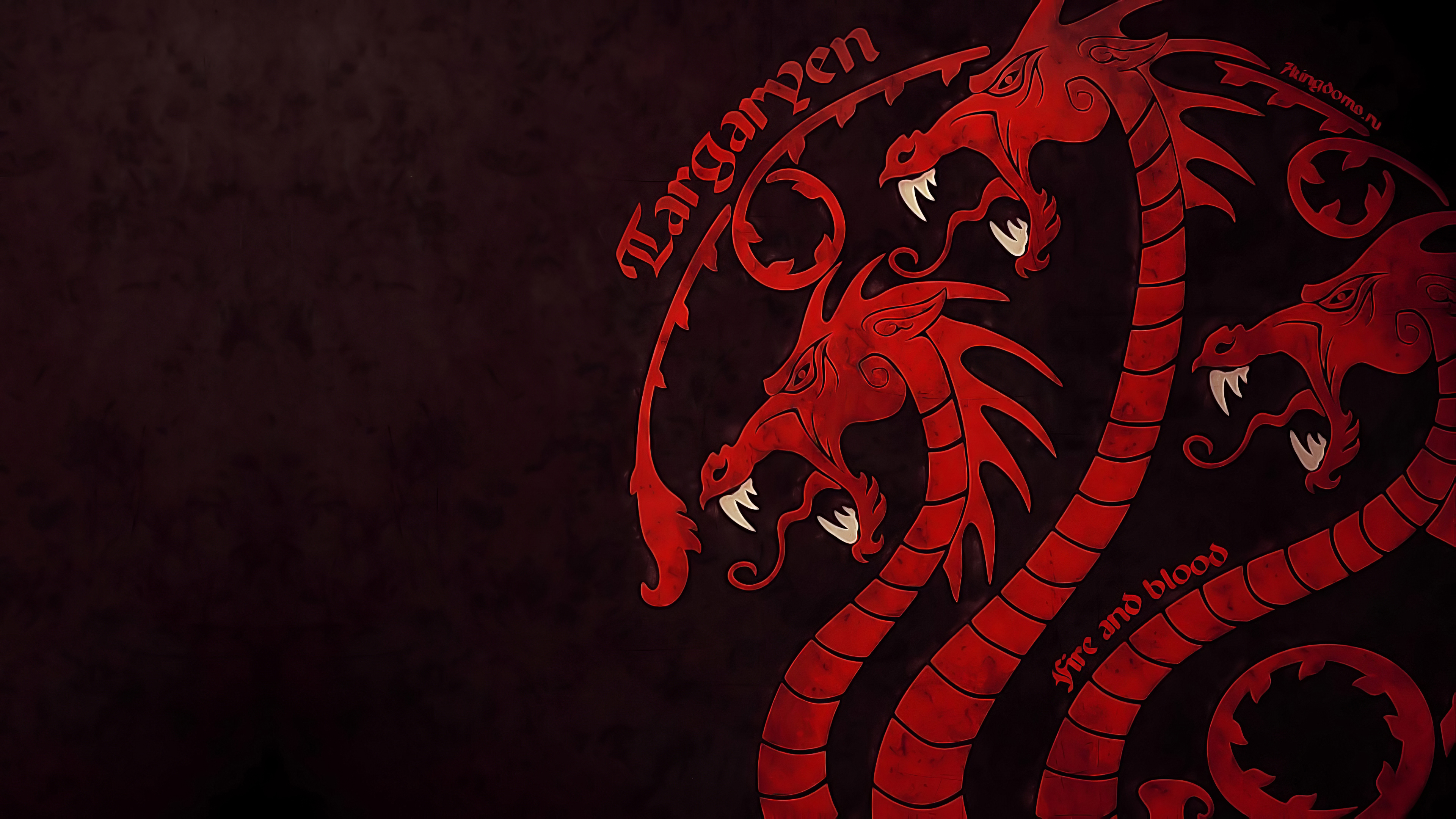 Game Of Thrones House Targaryen 4k Hd Tv Shows 4k Wallpapers