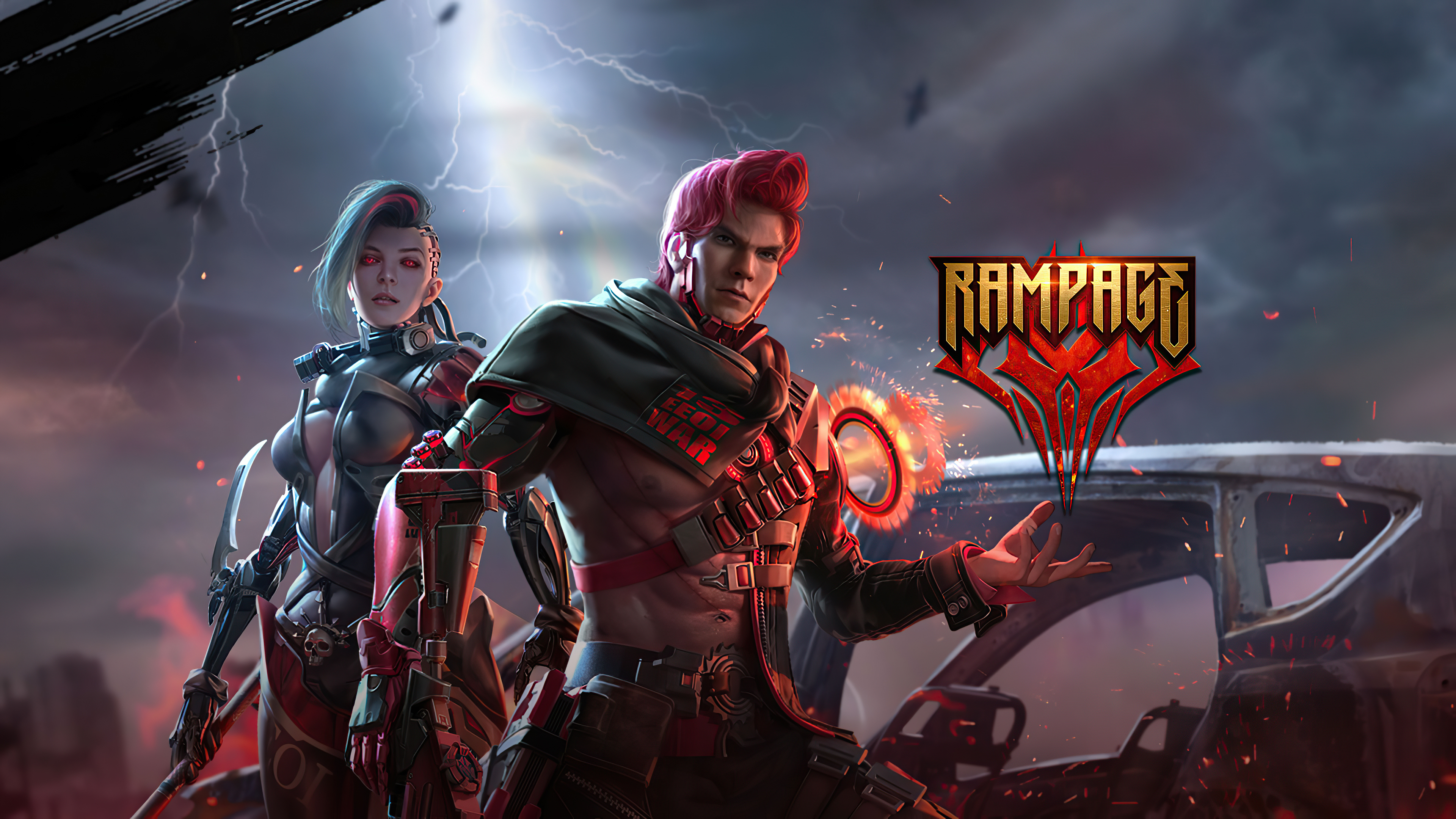 Garena Free Fire Rampage 4k Hd Games 4k Wallpapers Images Backgrounds Photos And Pictures