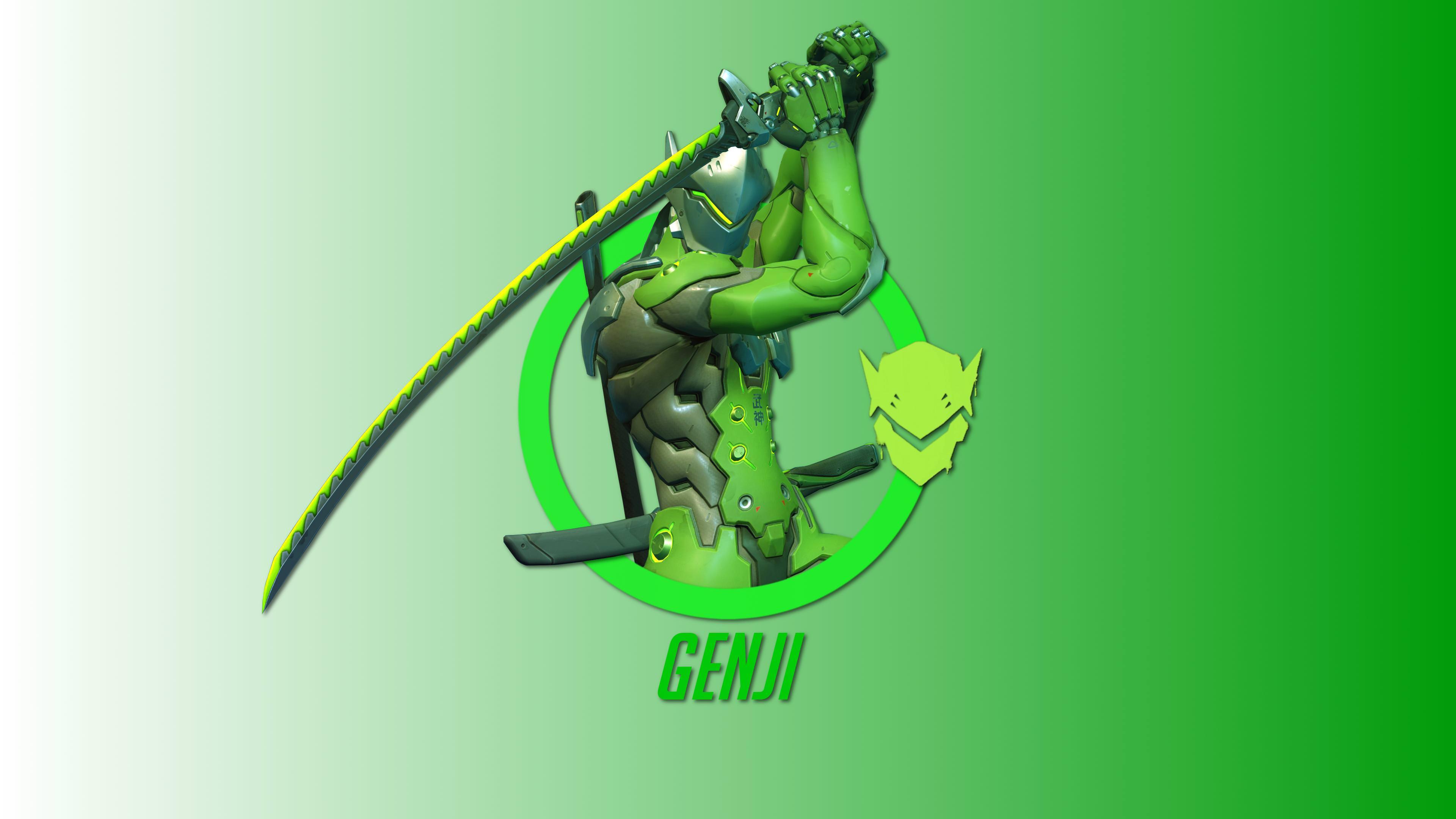 Genji Overwatch Hero 4k, HD Games, 4k