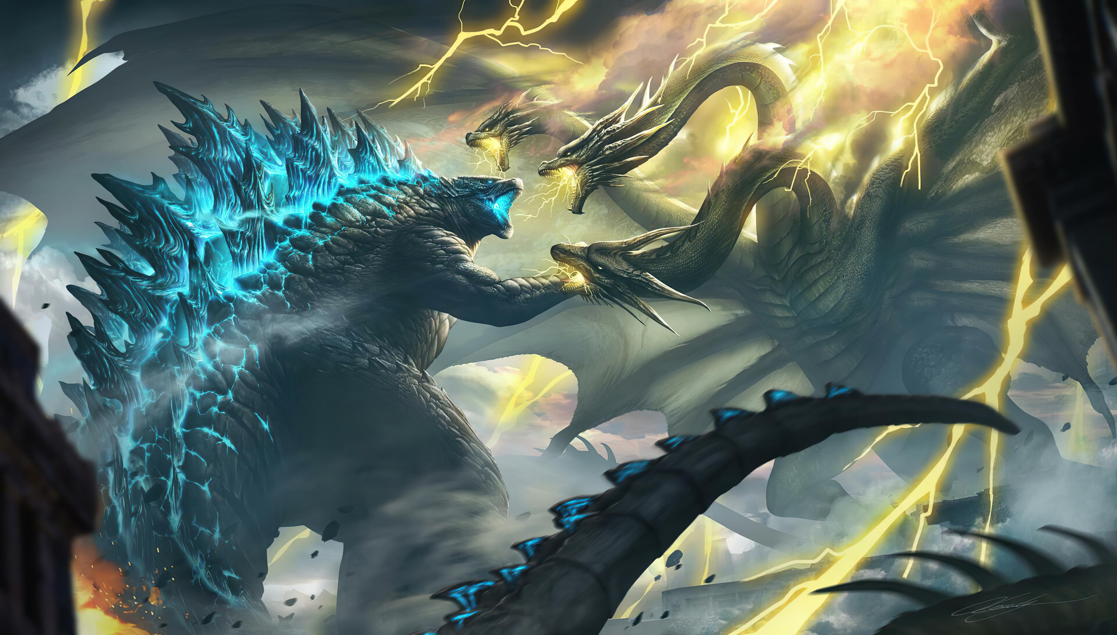 Ghidorah Godzilla King Of The Monsters 4k, HD Movies, 4k ...