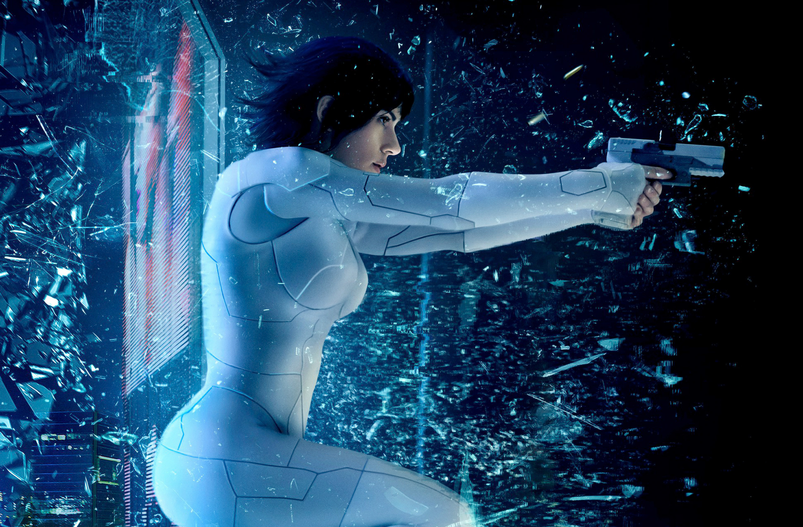 Ghost In The Shell 2017 Movie Hd Movies 4k Wallpapers Images
