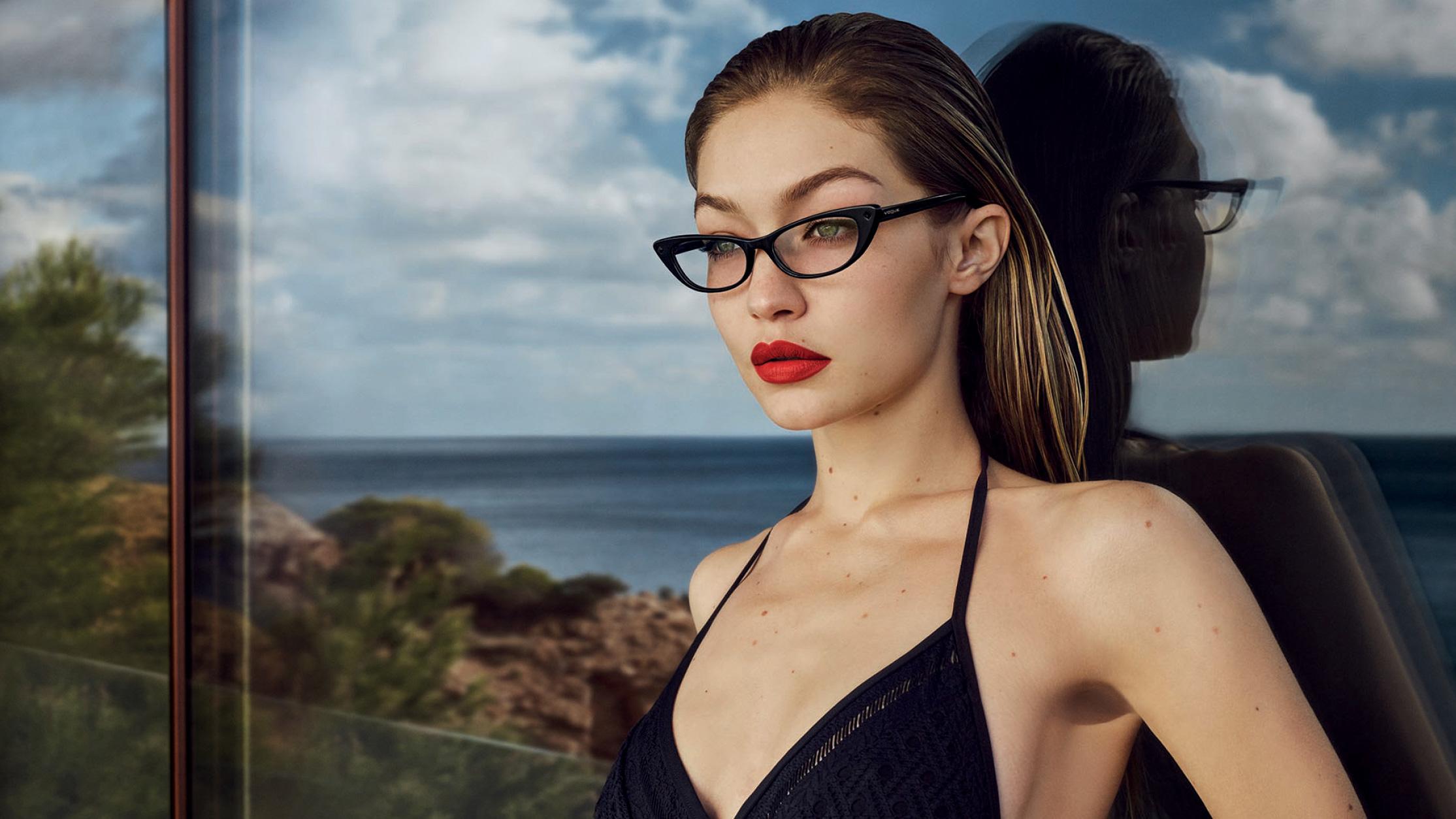 Vogue Magazine Gigi Hadid Photoshoot, February 2019 Issue