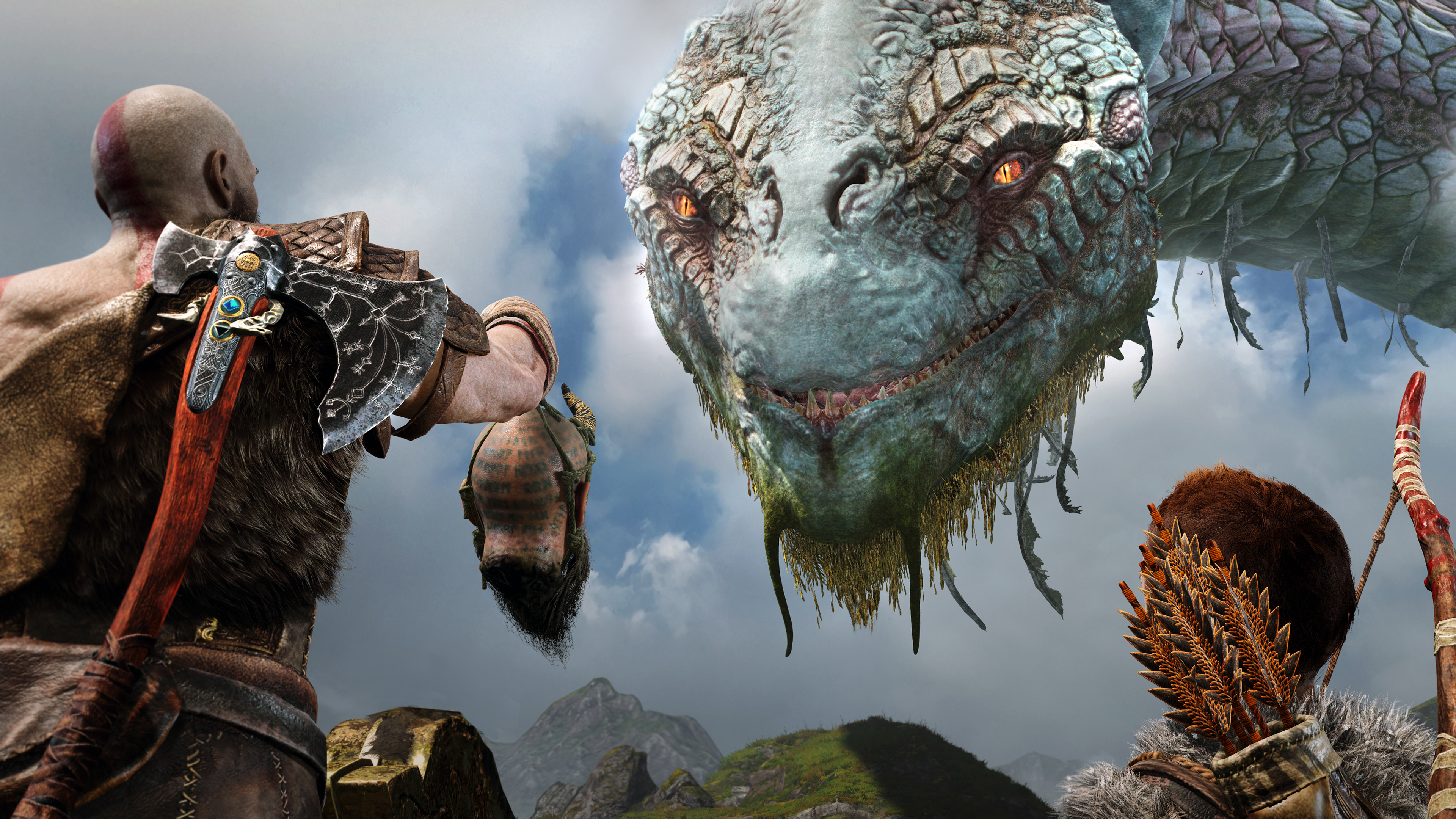 1680x1050 God Of War 4 2018 4k 1680x1050 Resolution Hd 4k