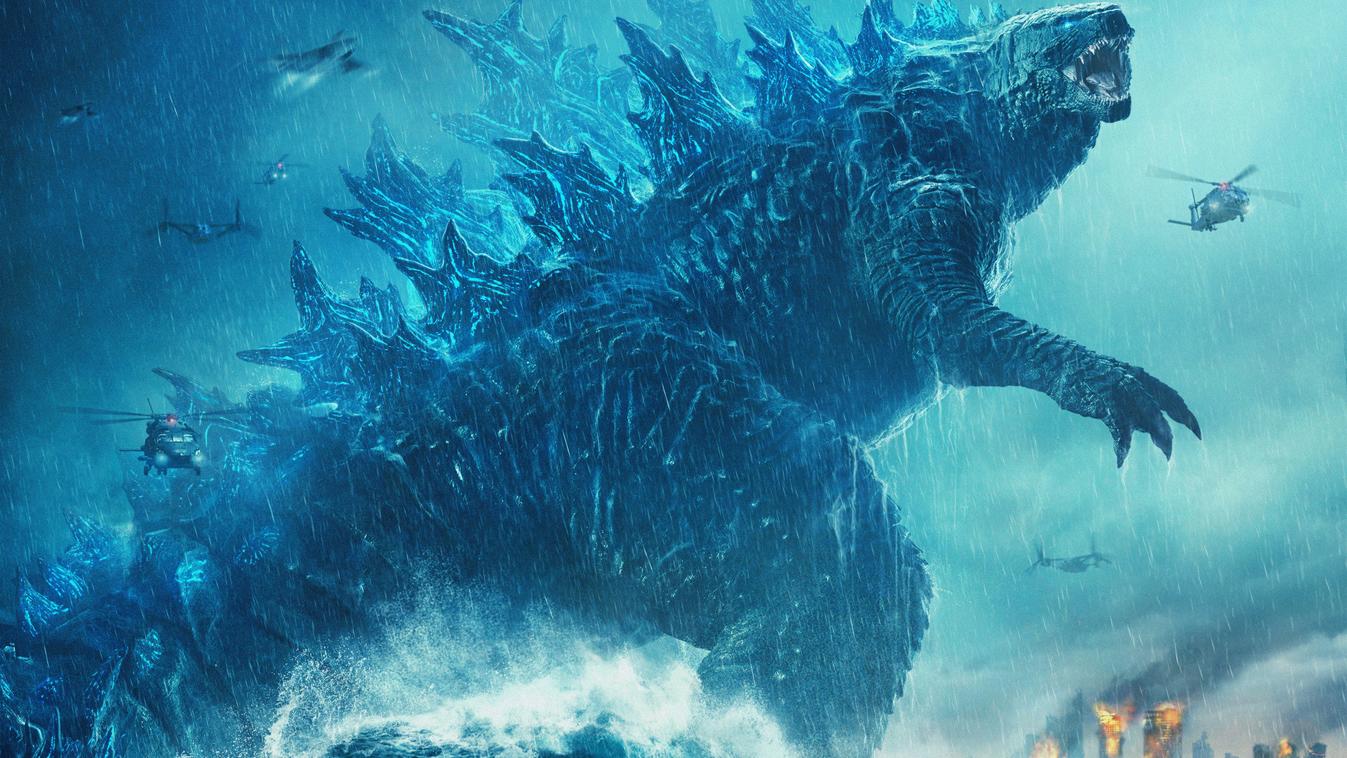 Godzilla King Of The Monsters 2019 Poster Hd Movies 4k