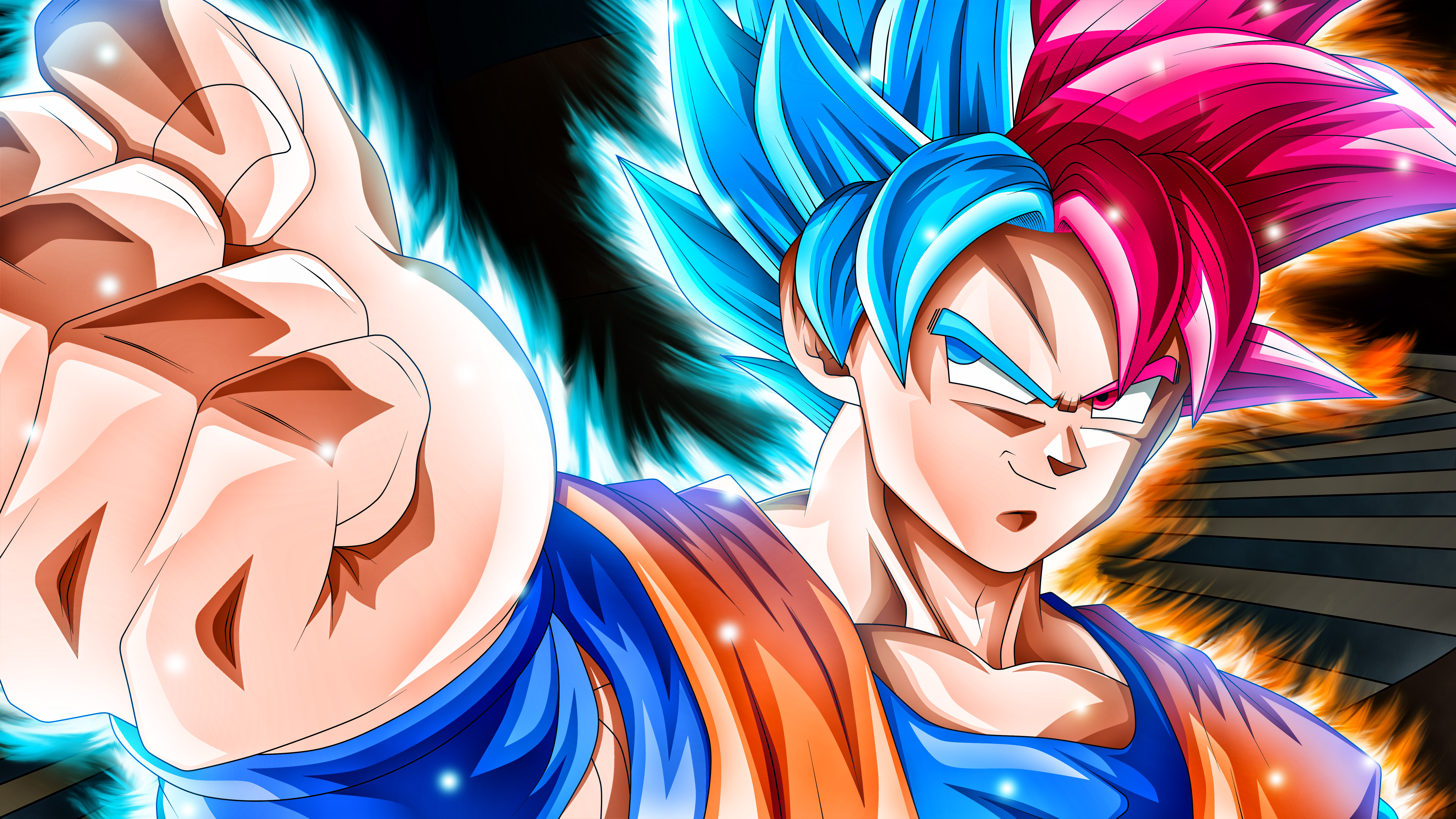 1360x768 Goku 5k Dragon Ball Super Laptop Hd Hd 4k Wallpapers Images Backgrounds Photos And Pictures