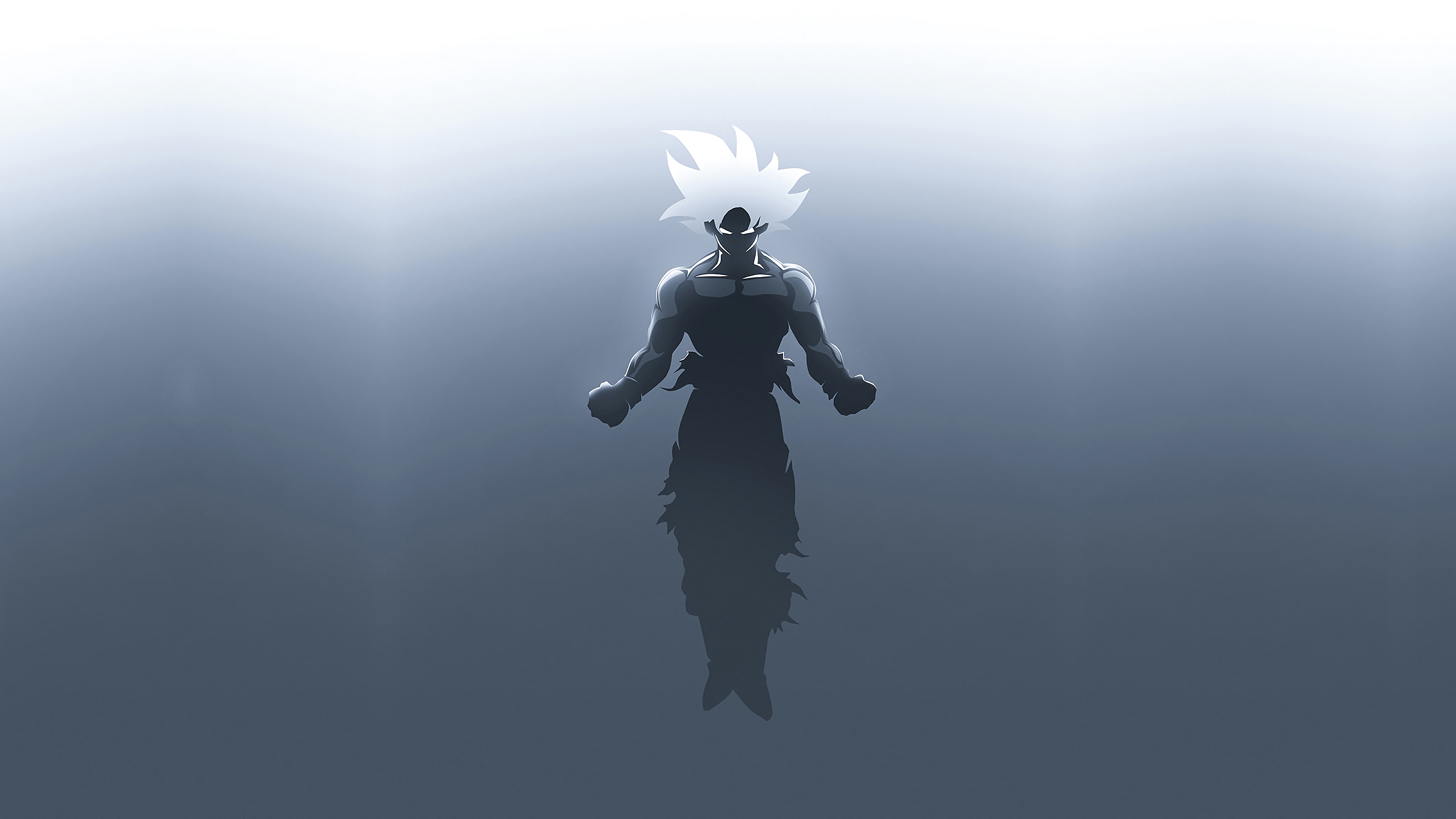 Goku In Dragon Ball Super Minimalism