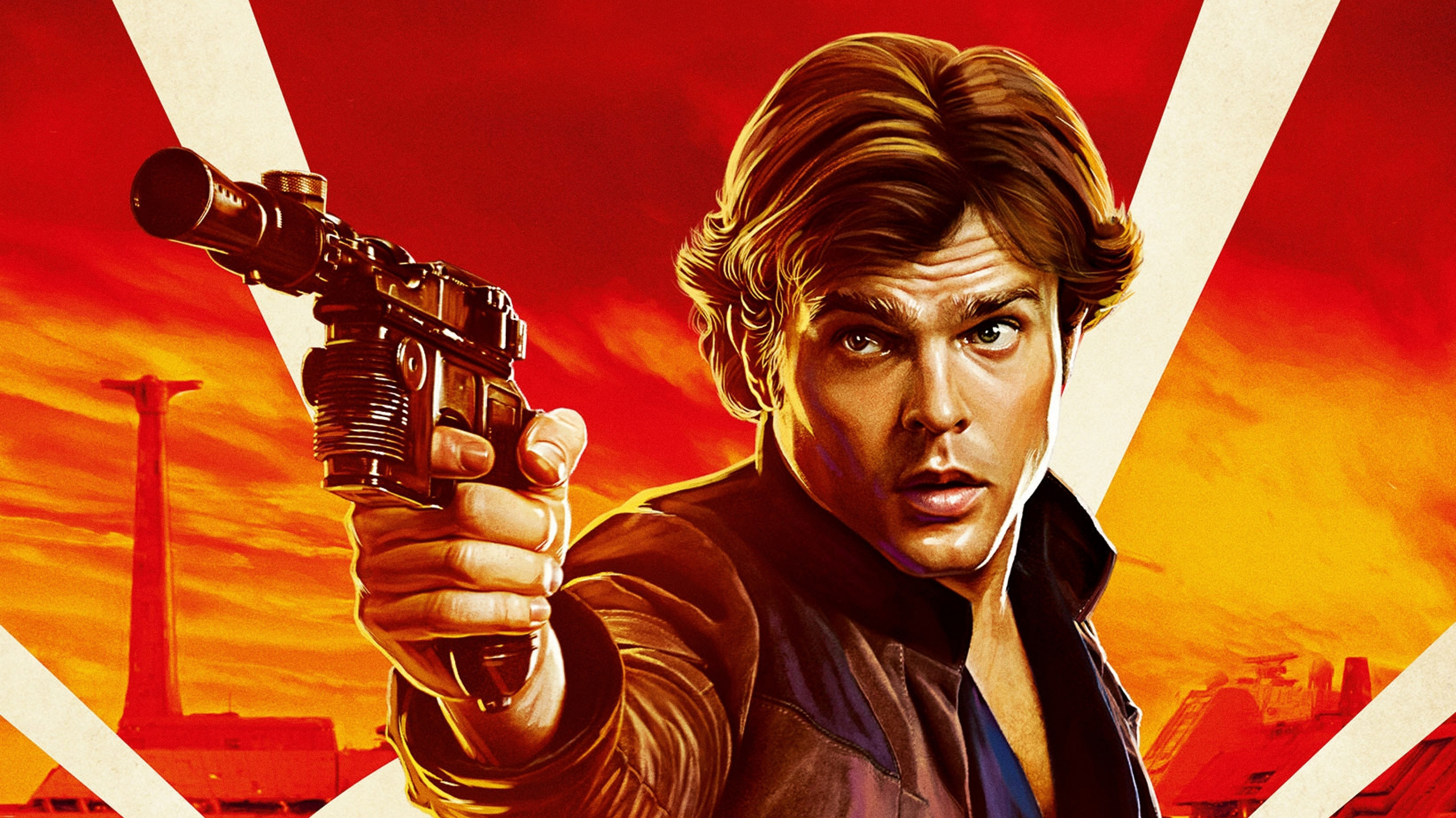 Han Solo In Solo A Star Wars Story Movie Hd Movies 4k Wallpapers
