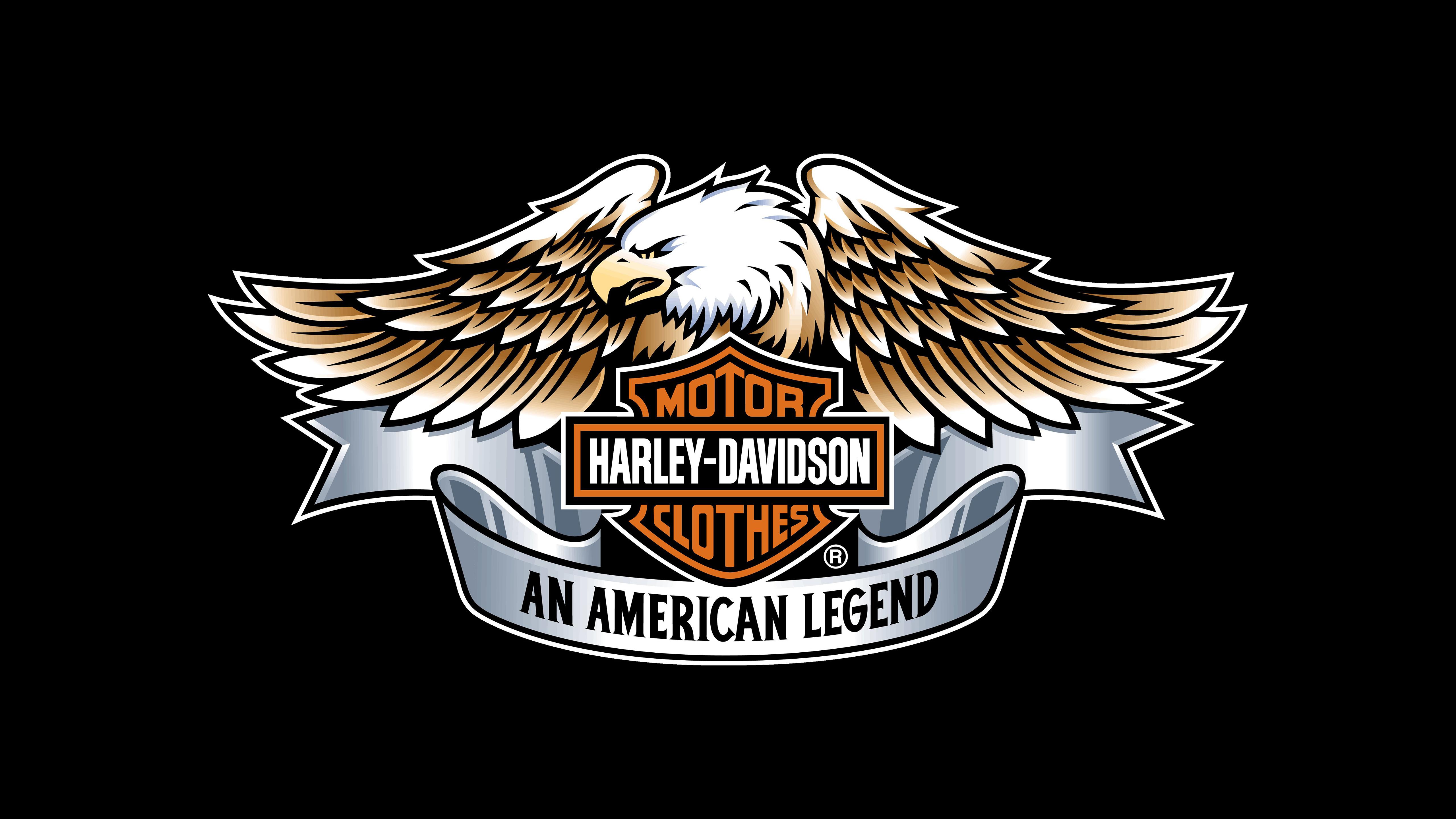 Harley Davidson Eagle Logo 4k Hd Bikes 4k Wallpapers Images