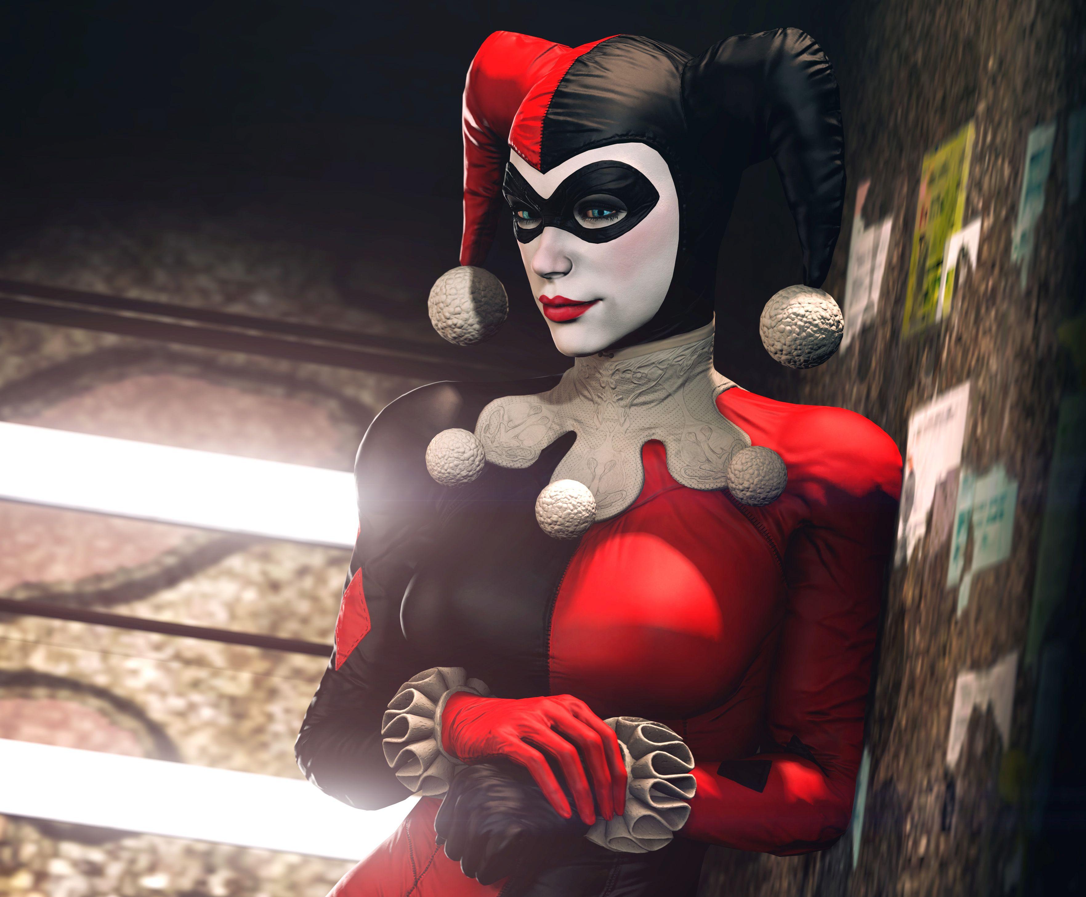 Harley Quinn Batman Arkham Night Hd Games 4k Wallpapers Images